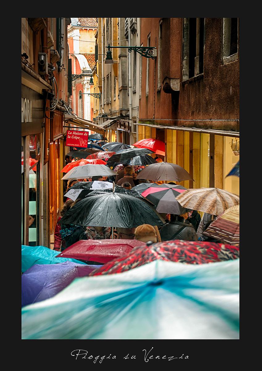 Rain on Venice...
