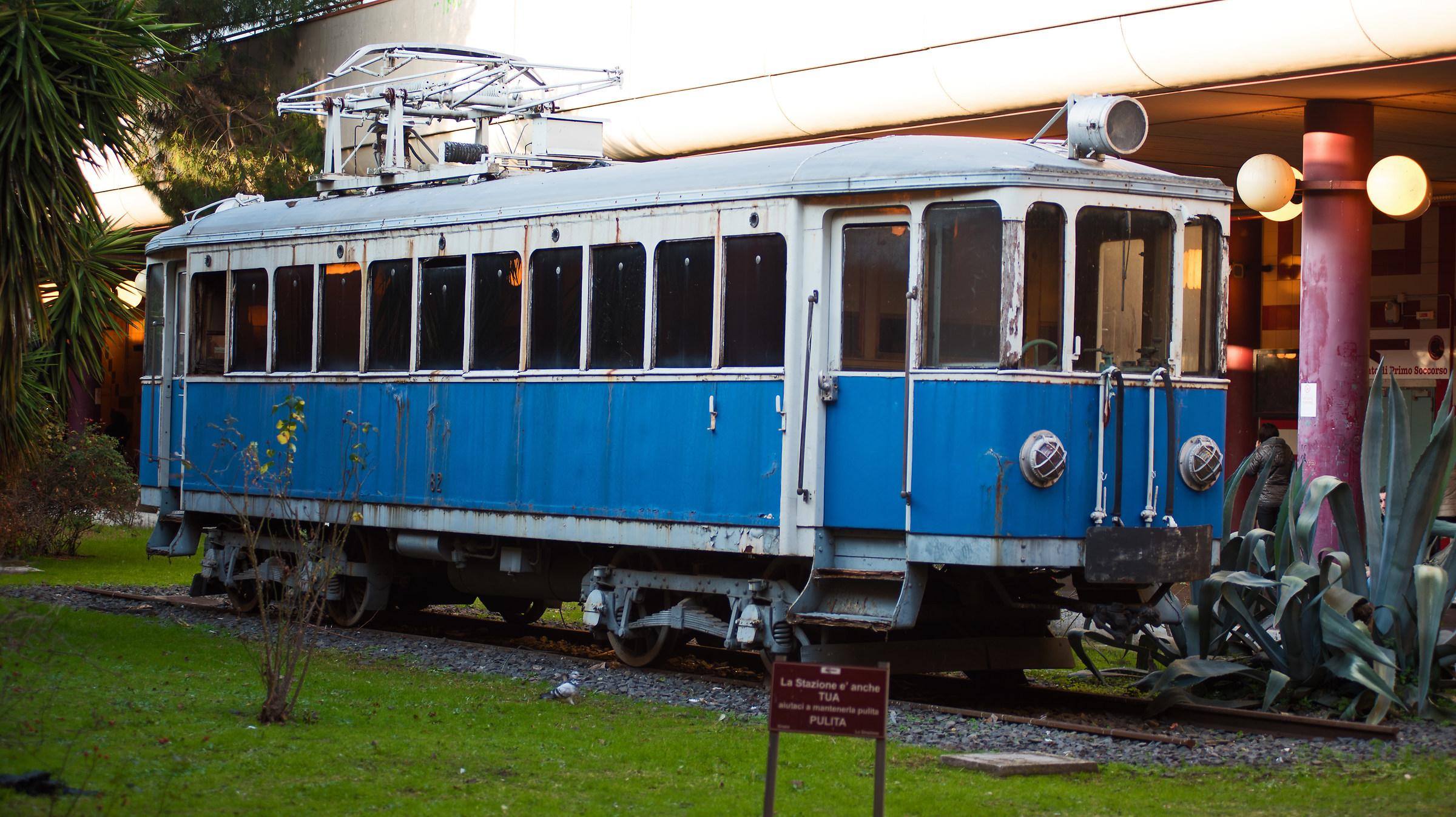 Old tram...