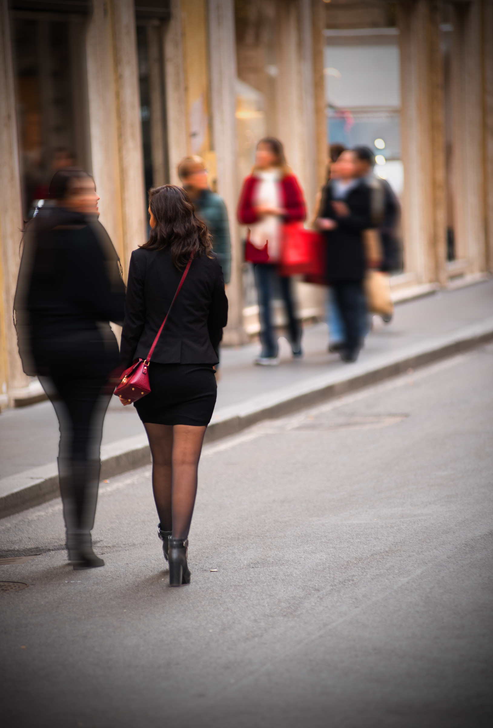 Street & shopping...