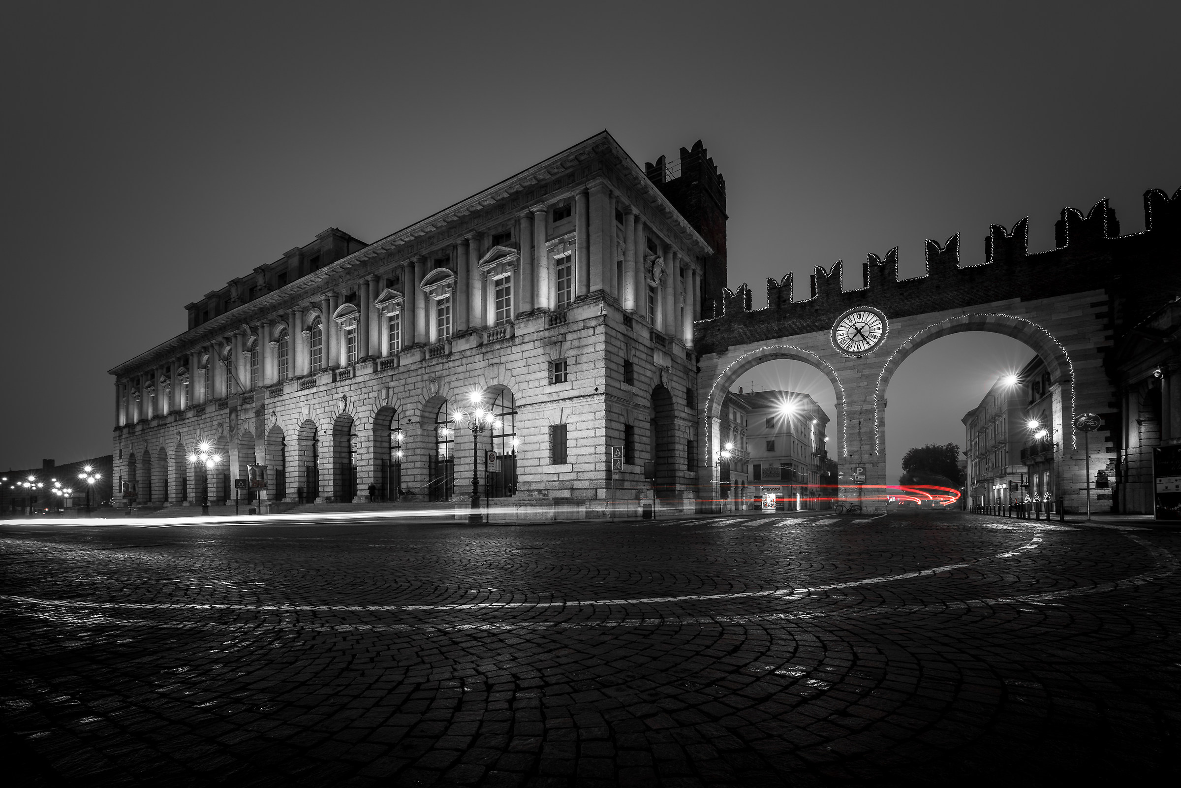 Palace of Granguardia - Piazza Bra - Verona...