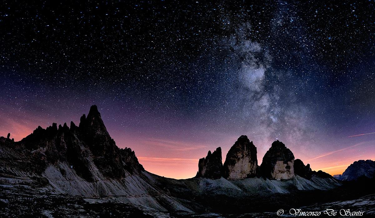 Tre cime di Lavaredo Monte Paterno...