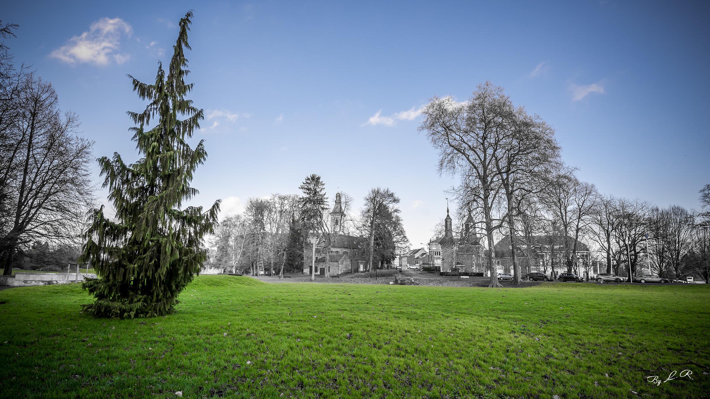Ch�teau of Monceau (Charleroi-Belgique)...