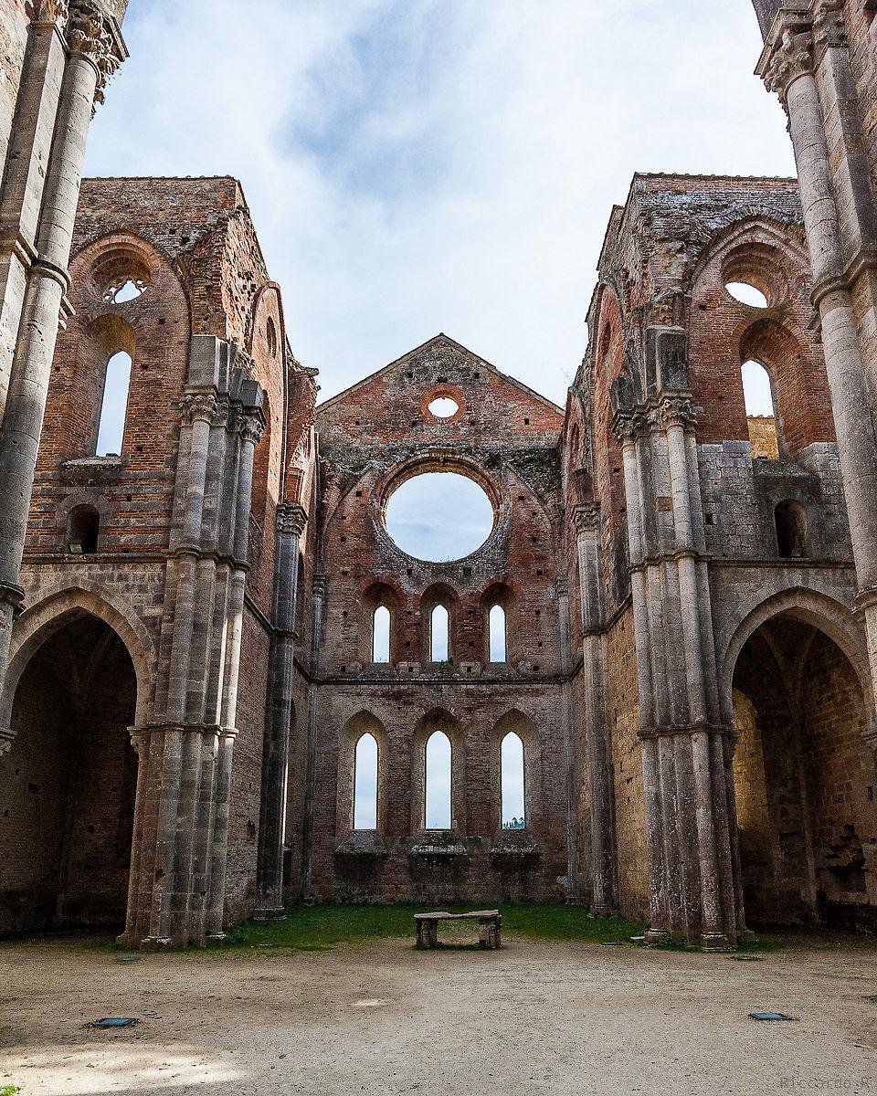 San Galgano abbey Chiusdino (si). Tuscany...