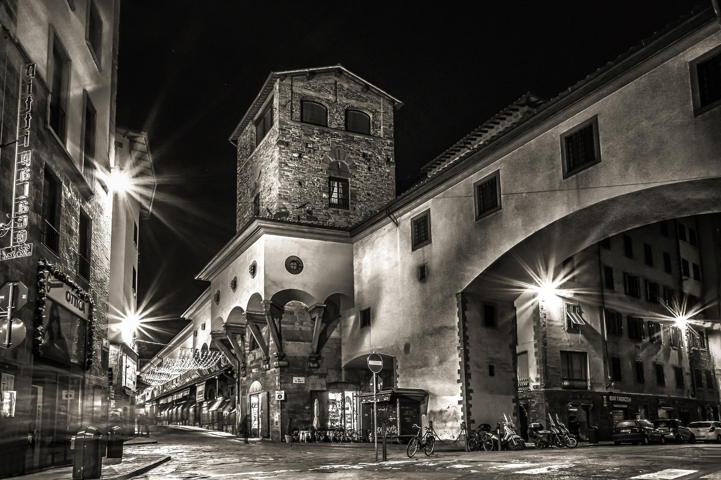 Ponte Vecchio, Via de Bardi...