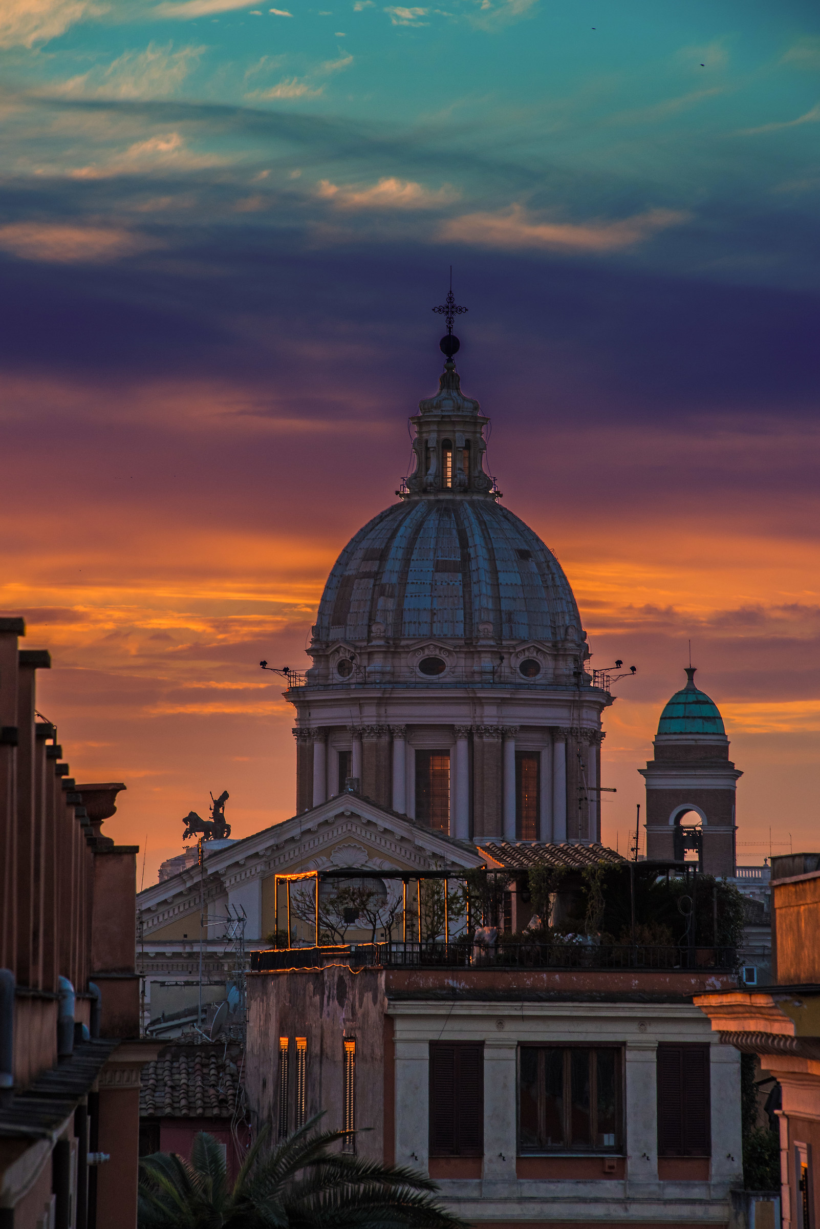 sunsets in Rome ......