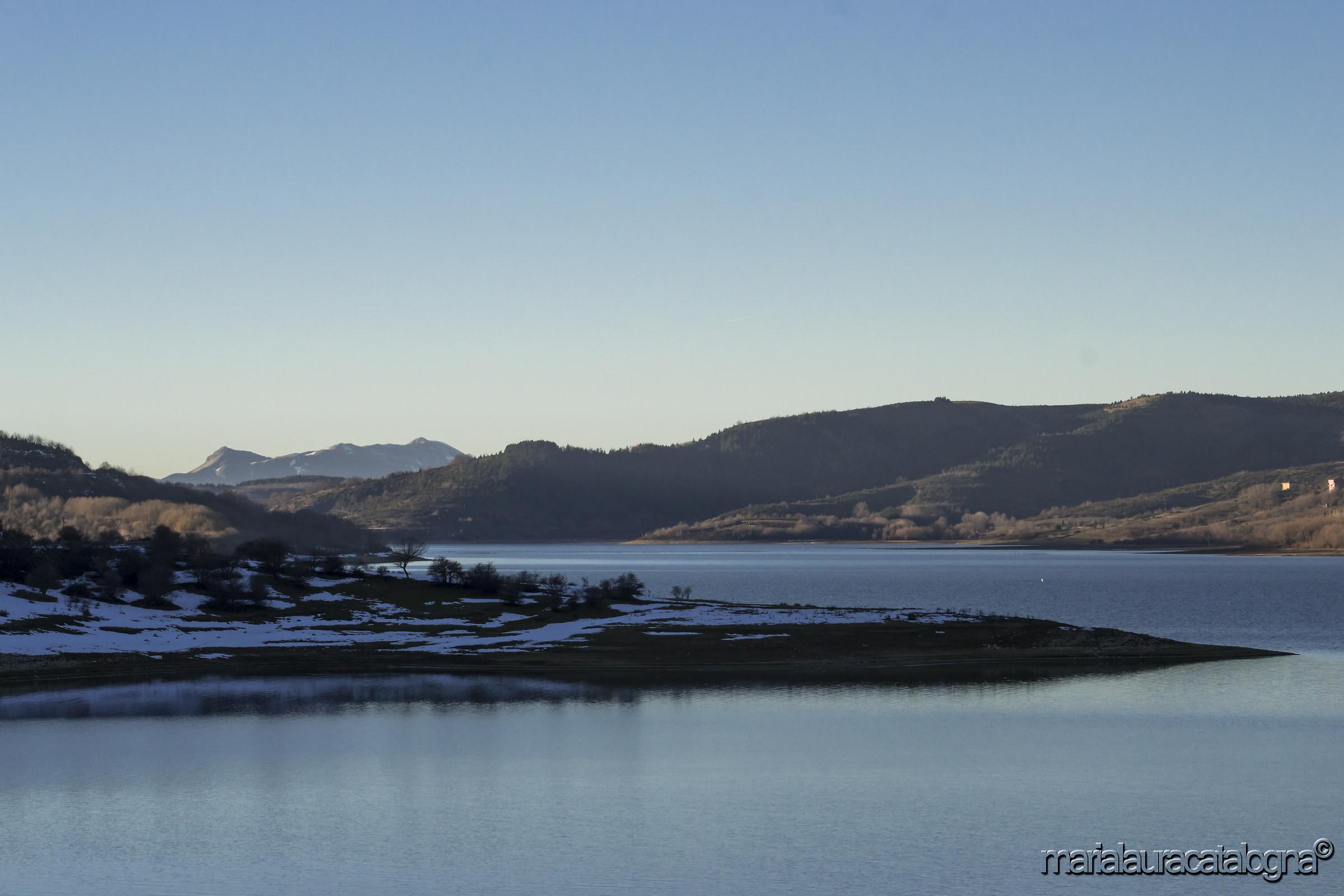 Lake Campotosto...