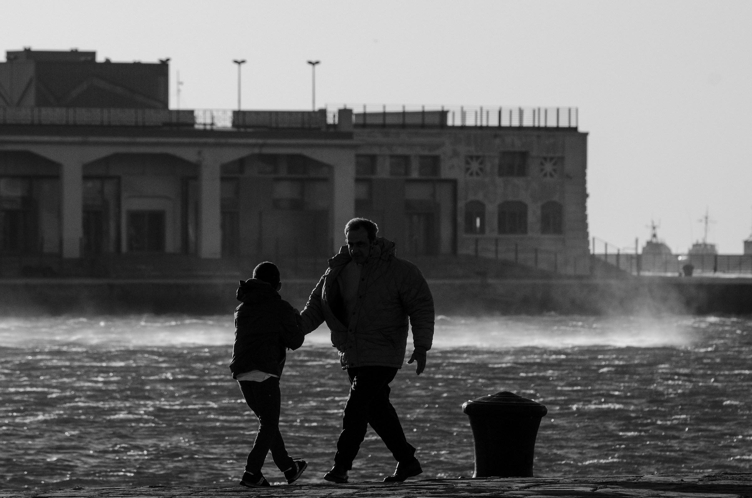 Trieste and the Bora...