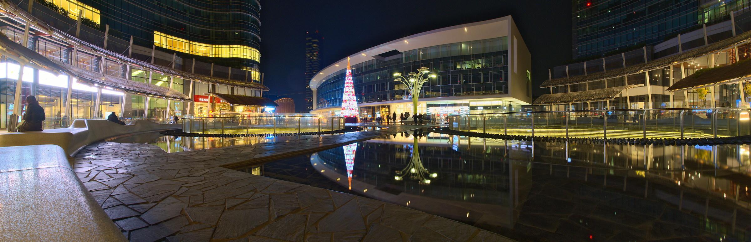 Piazza Gae Aulenti - Natale 2015...