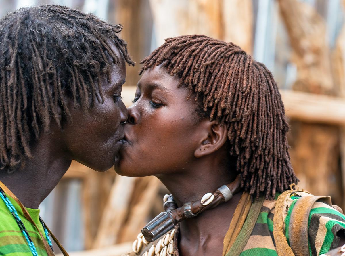 Il bacio...