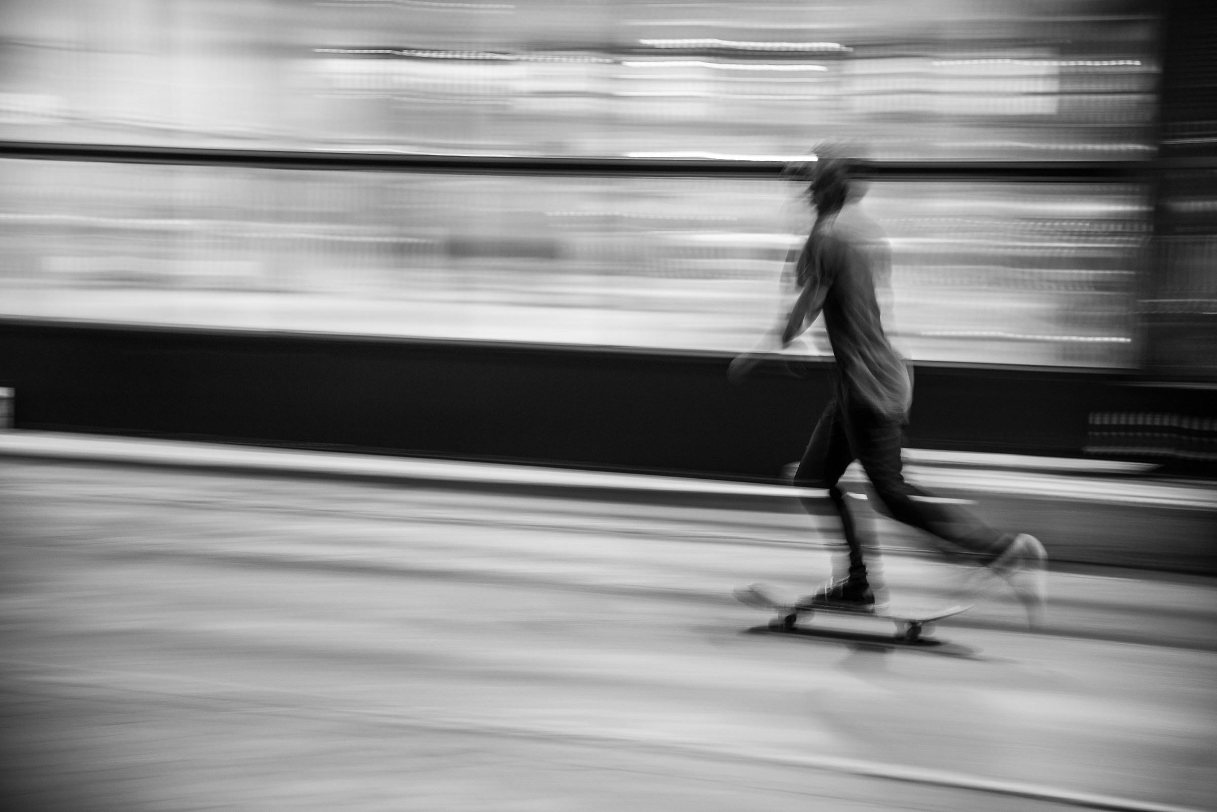 Skater blur...