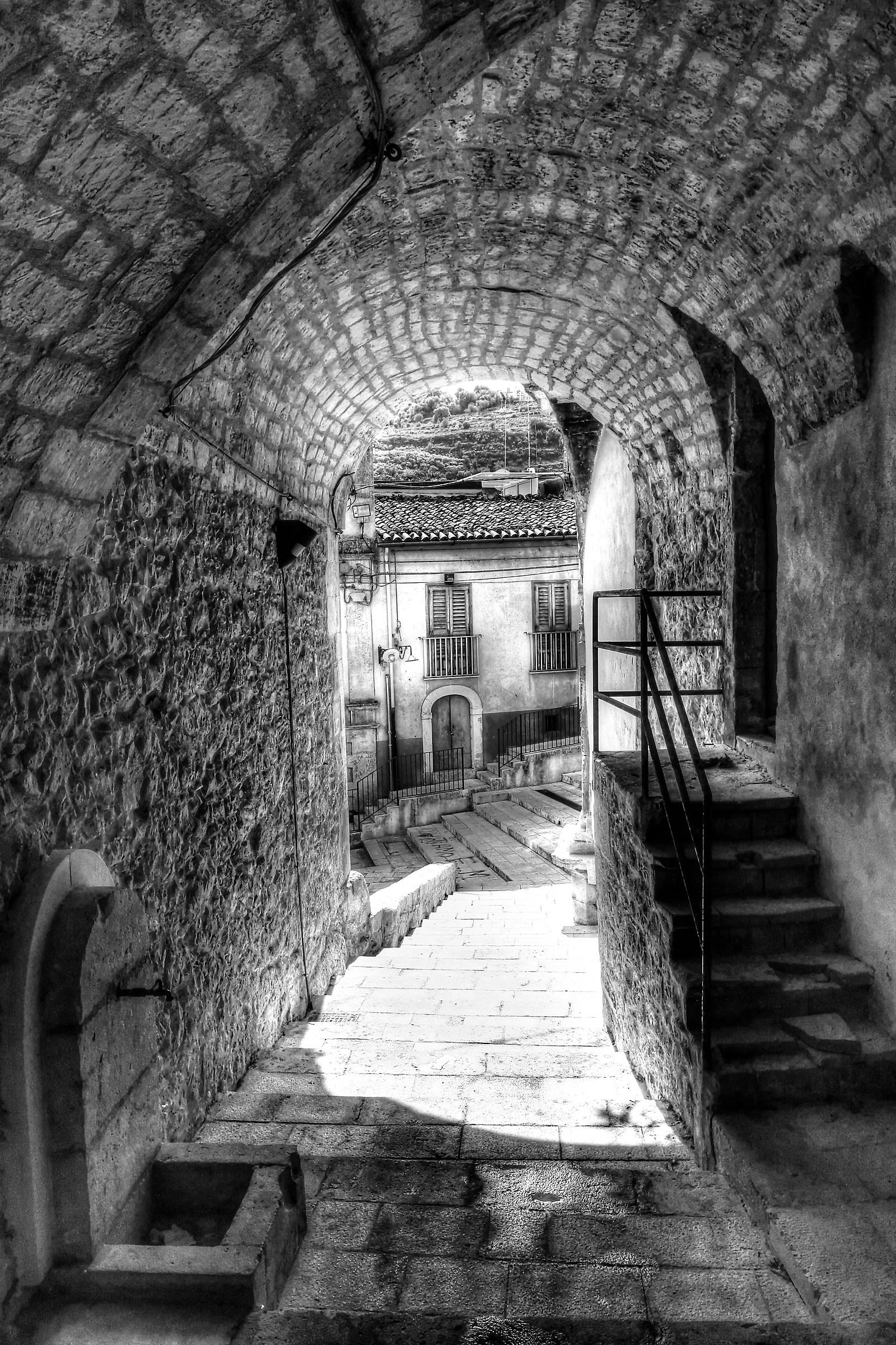 Inside Ibla...