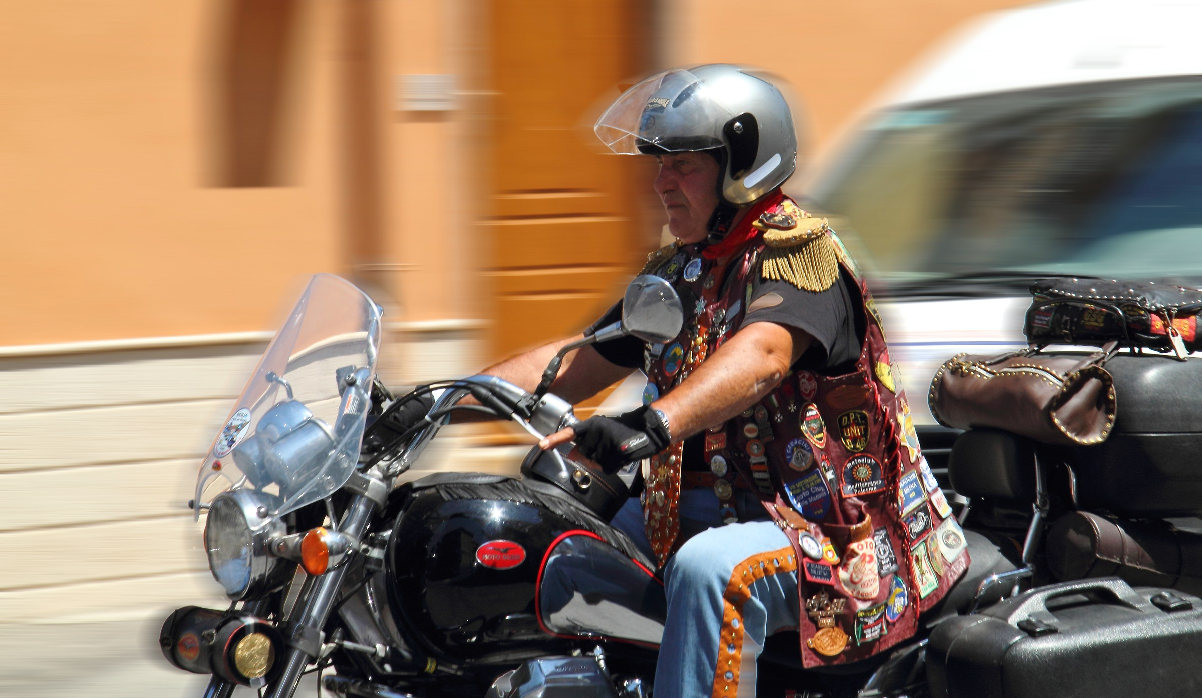 motorcycle rally...