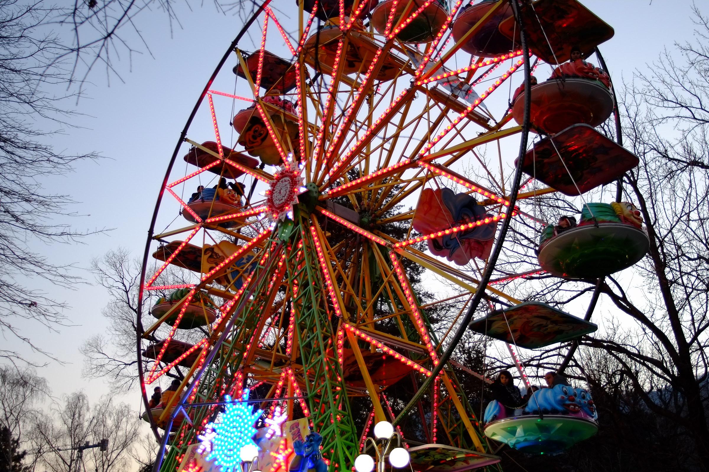 Ferris wheel...