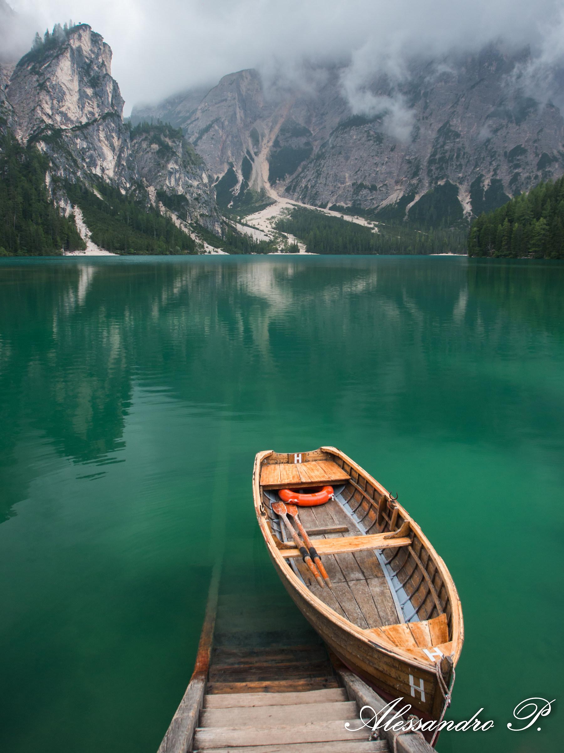Braies Lake, Italy...