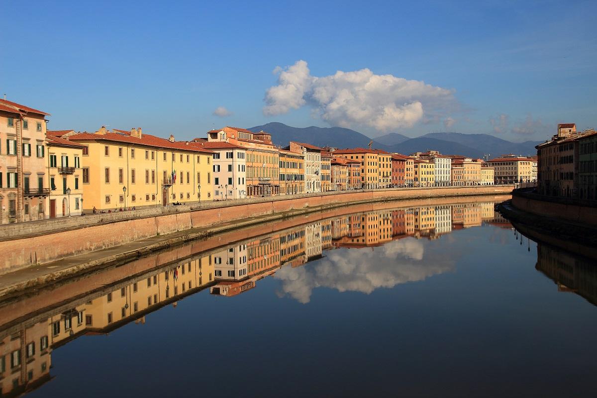 Pisa, Arno_Arno, Pisa...