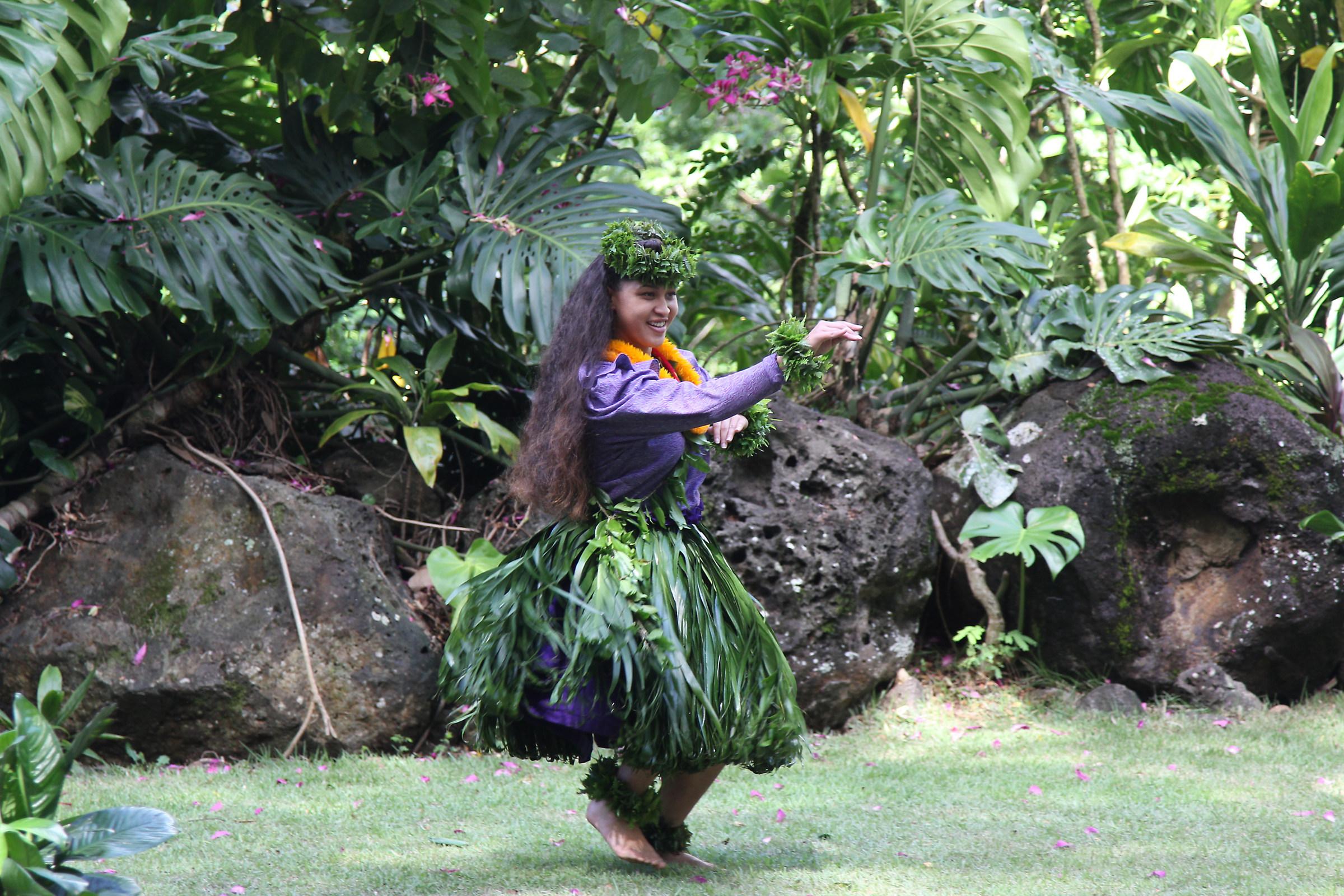 Hula Dance Competition...