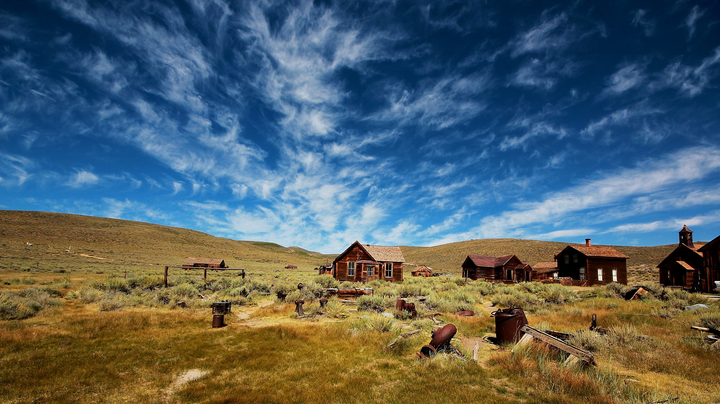Bodie Ghost town...