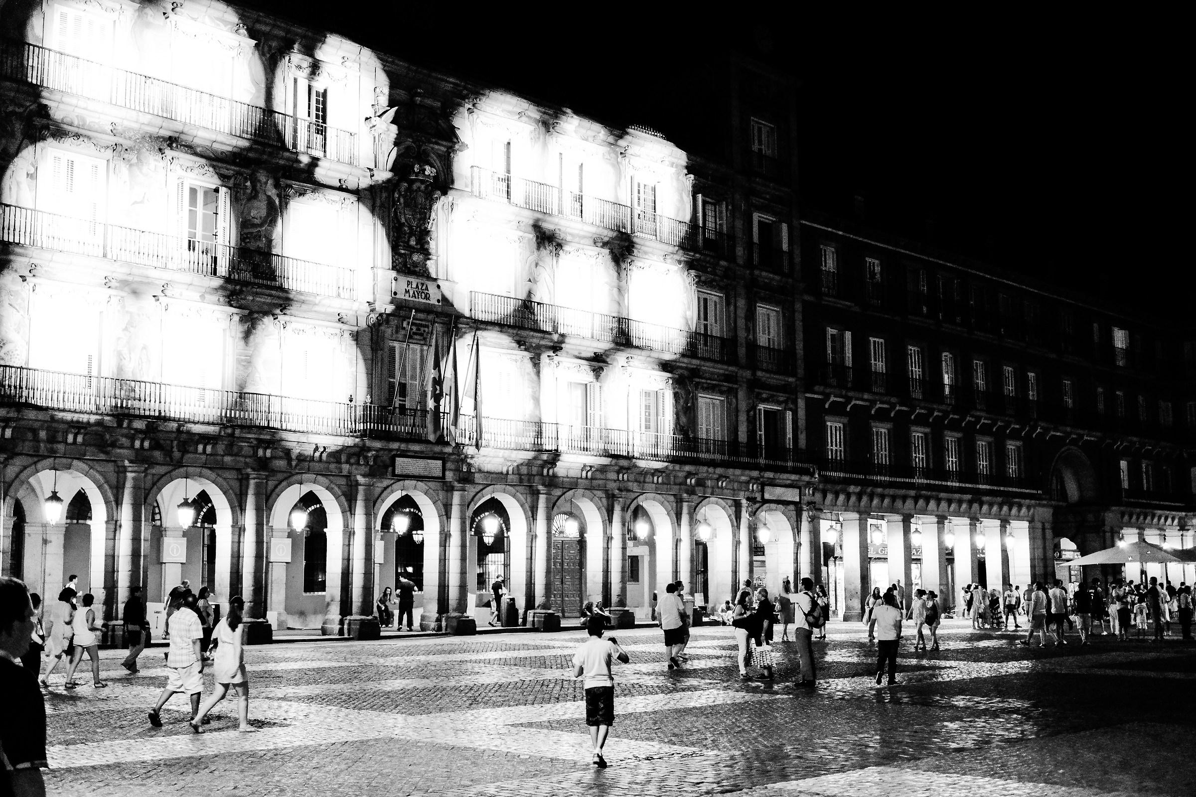 Plaza Major, Madrid, Spain...