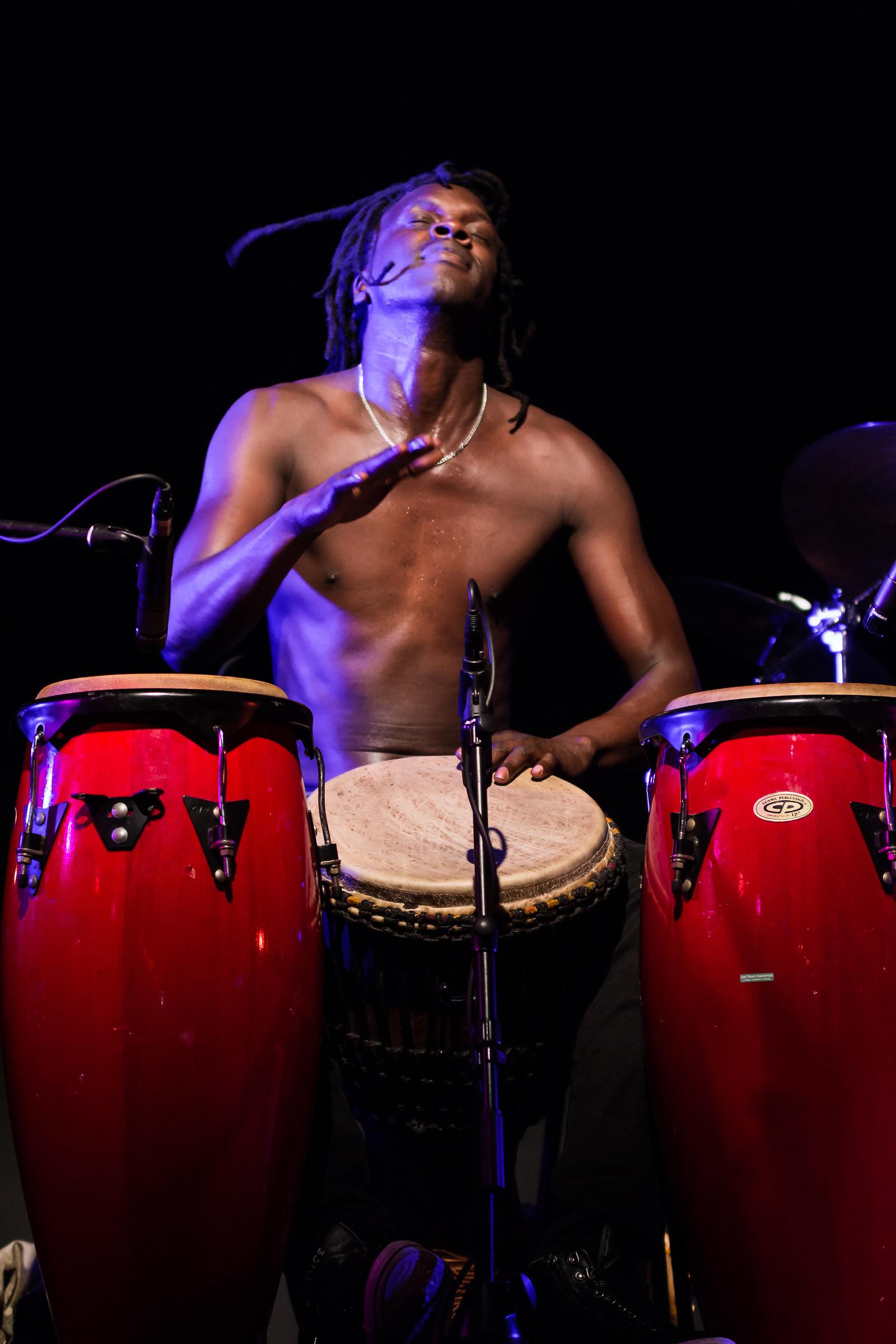Il percussionista...