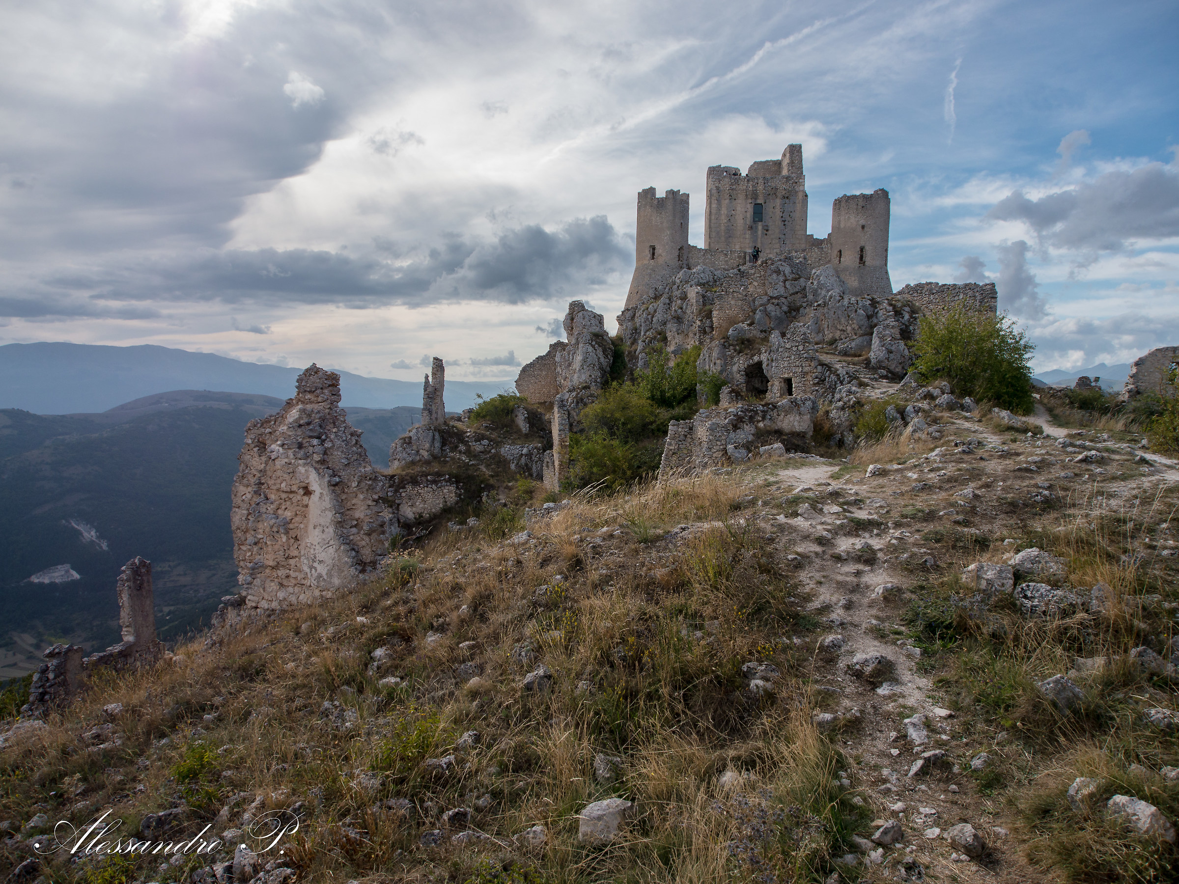 Rocca Calascio, Italy...