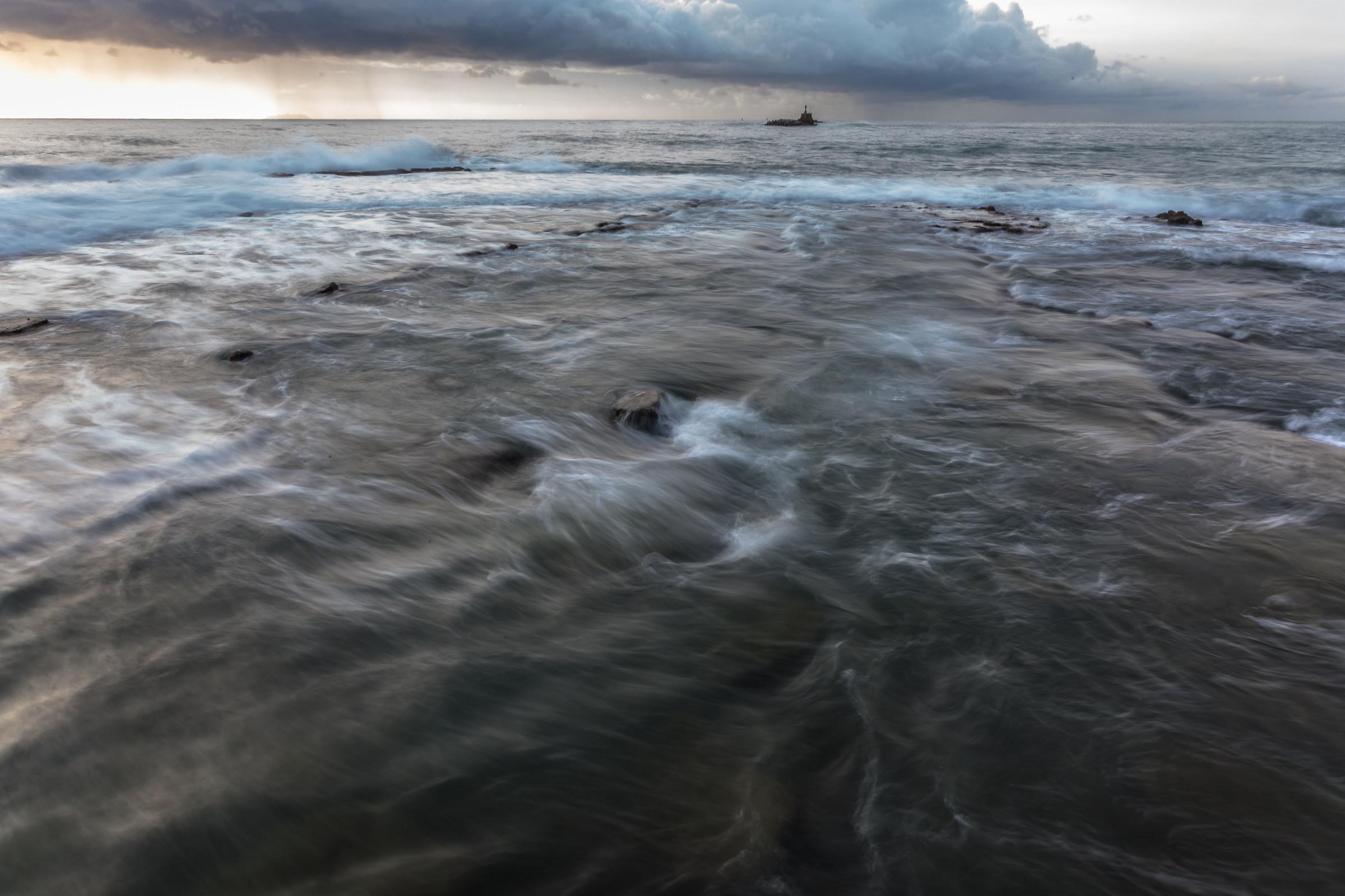 stormy sea ......