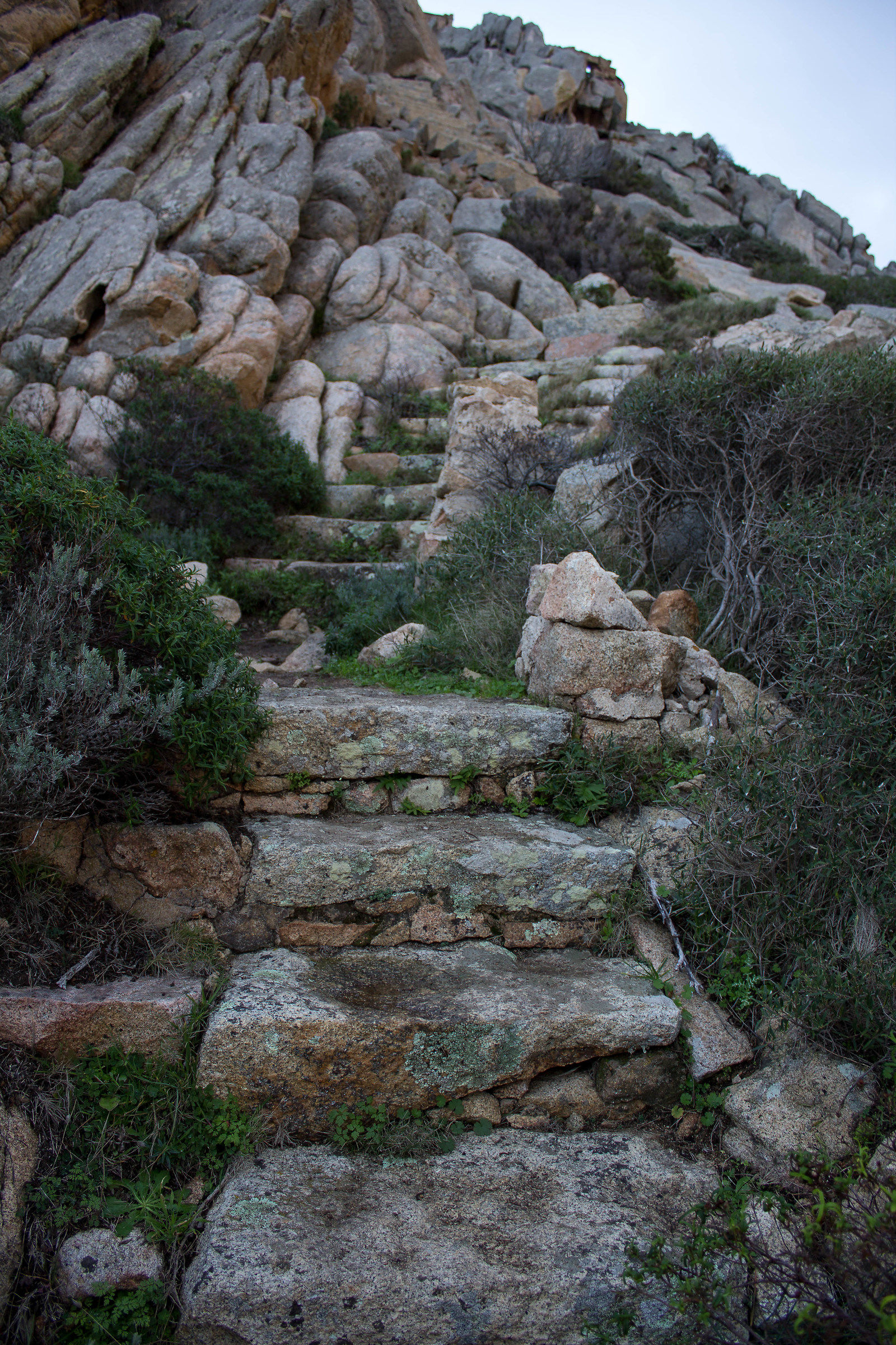 Stairs in granite...