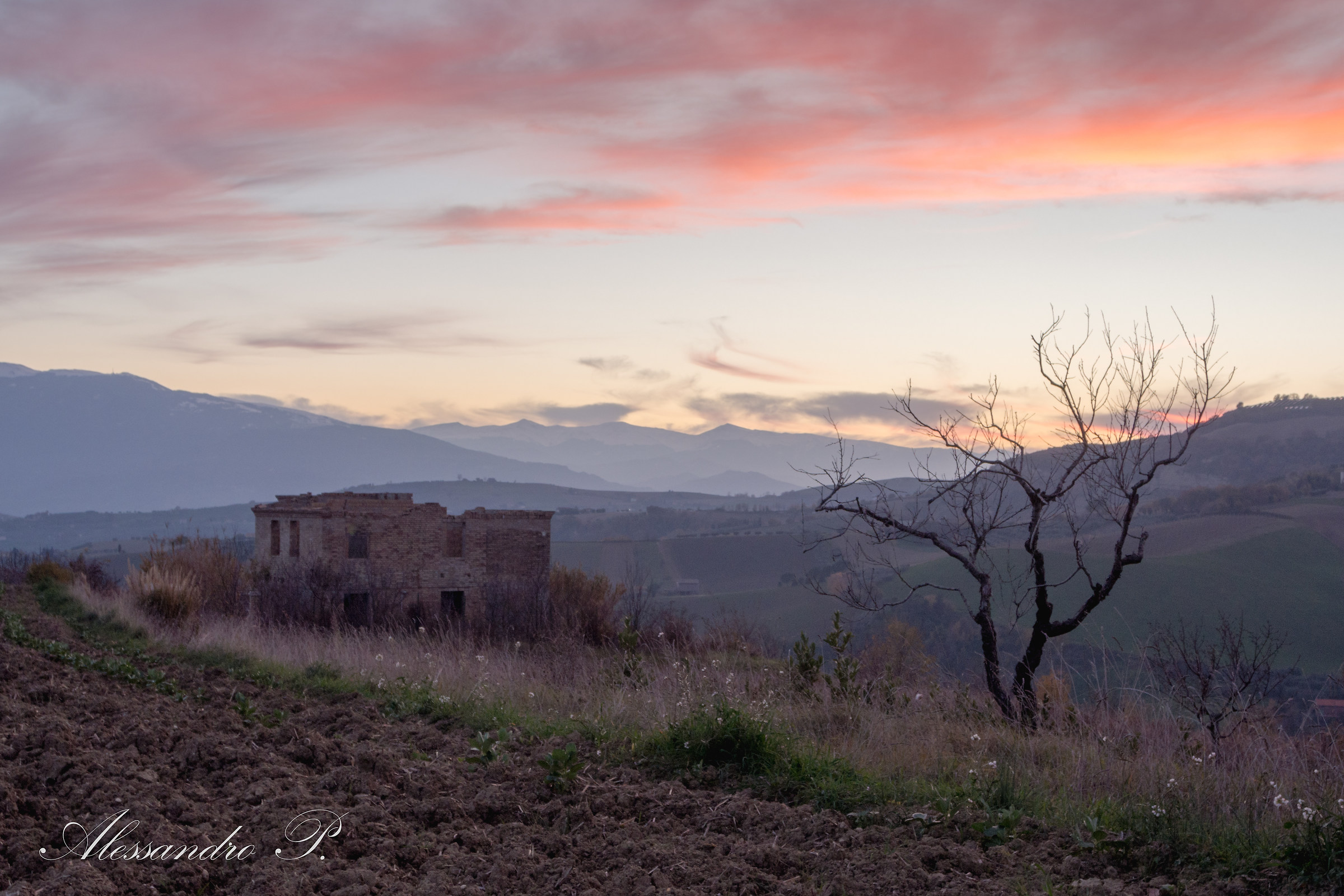 Sunset 2.0 Offida, Italy...