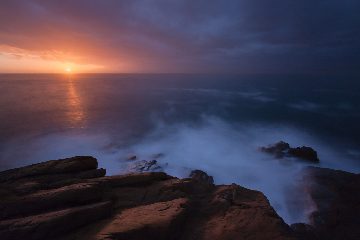 Calafuria and its sunset...