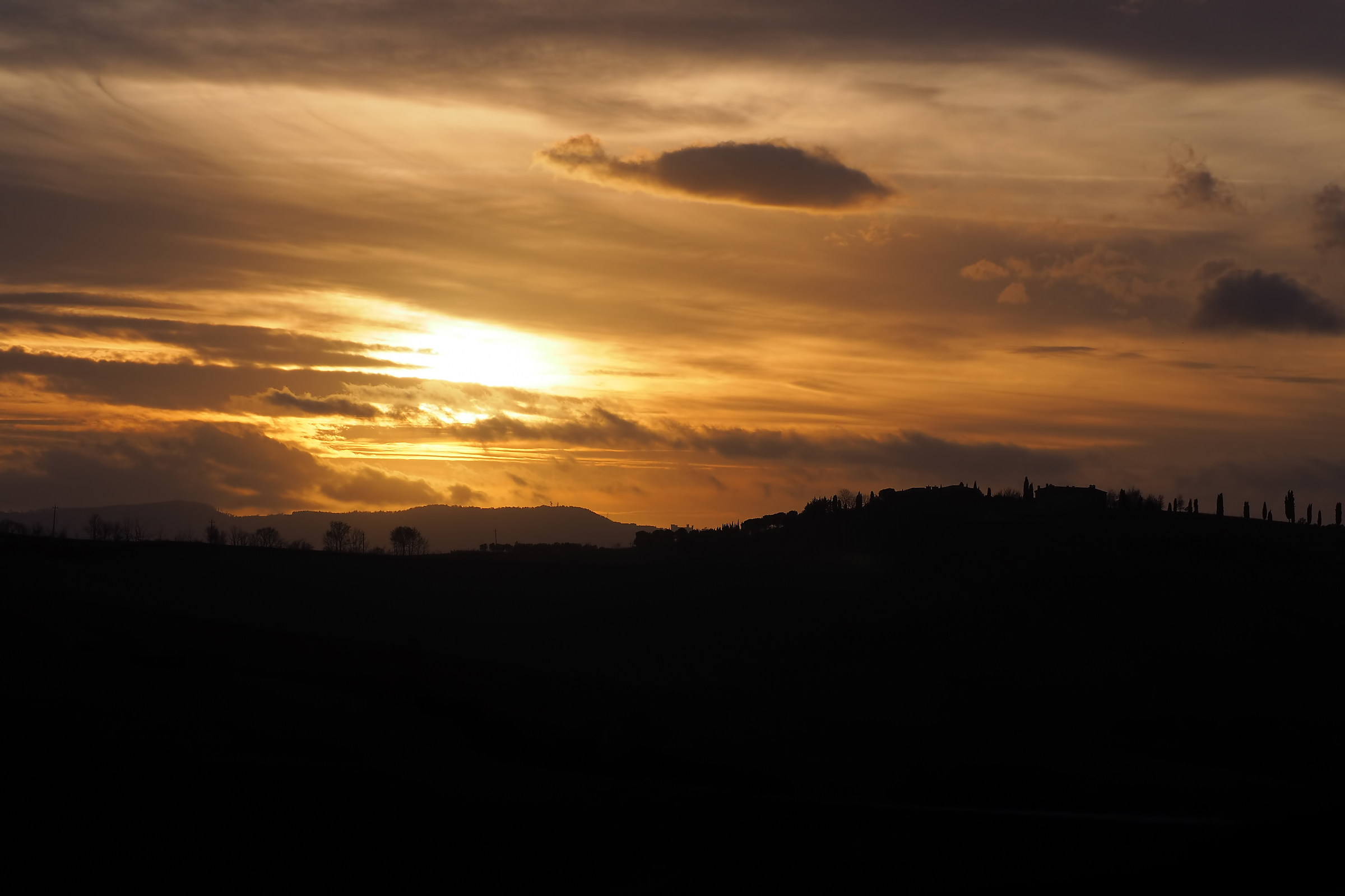 Val d'Orcia Hills...