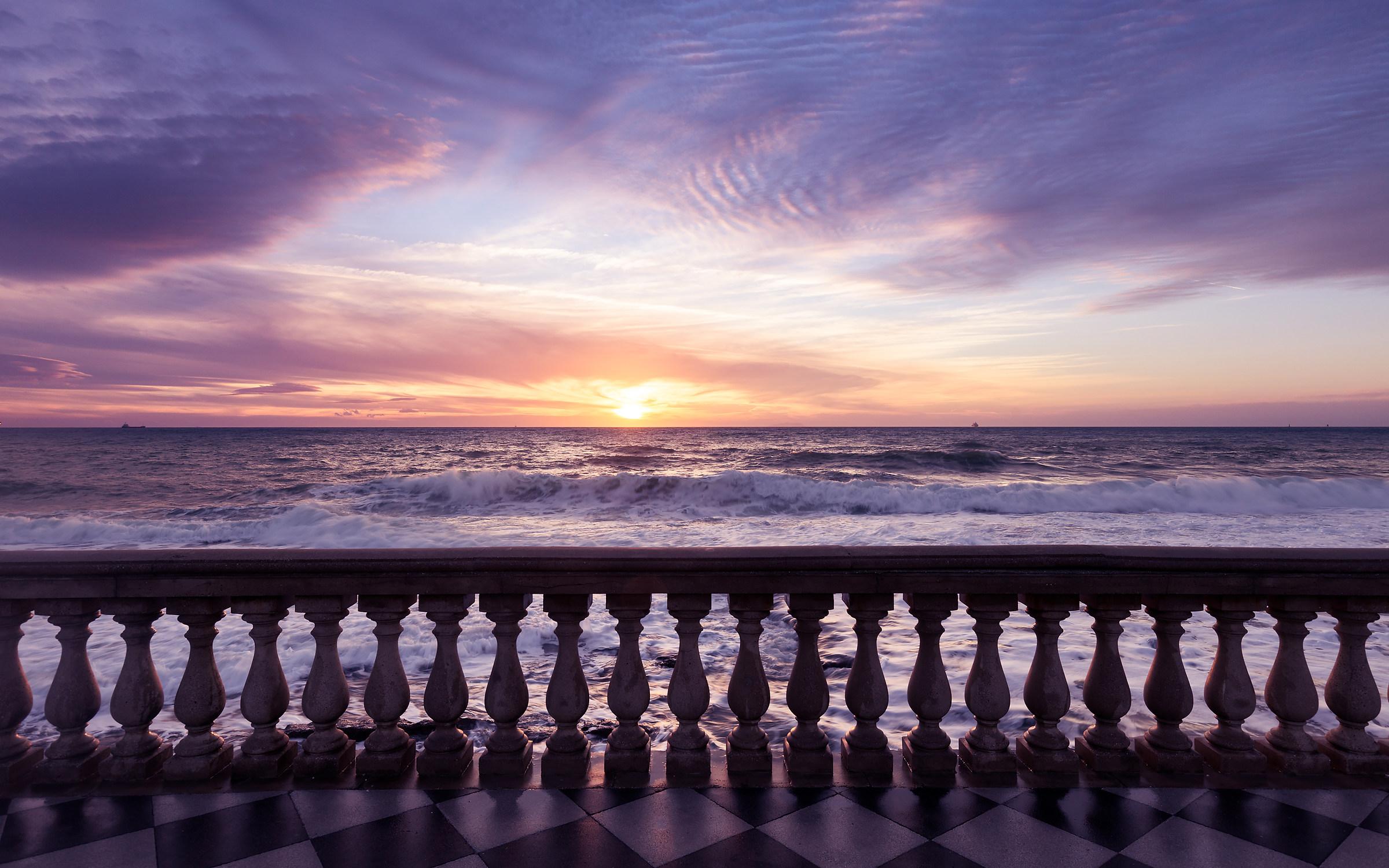 Terrazza Mascagni al tramonto...