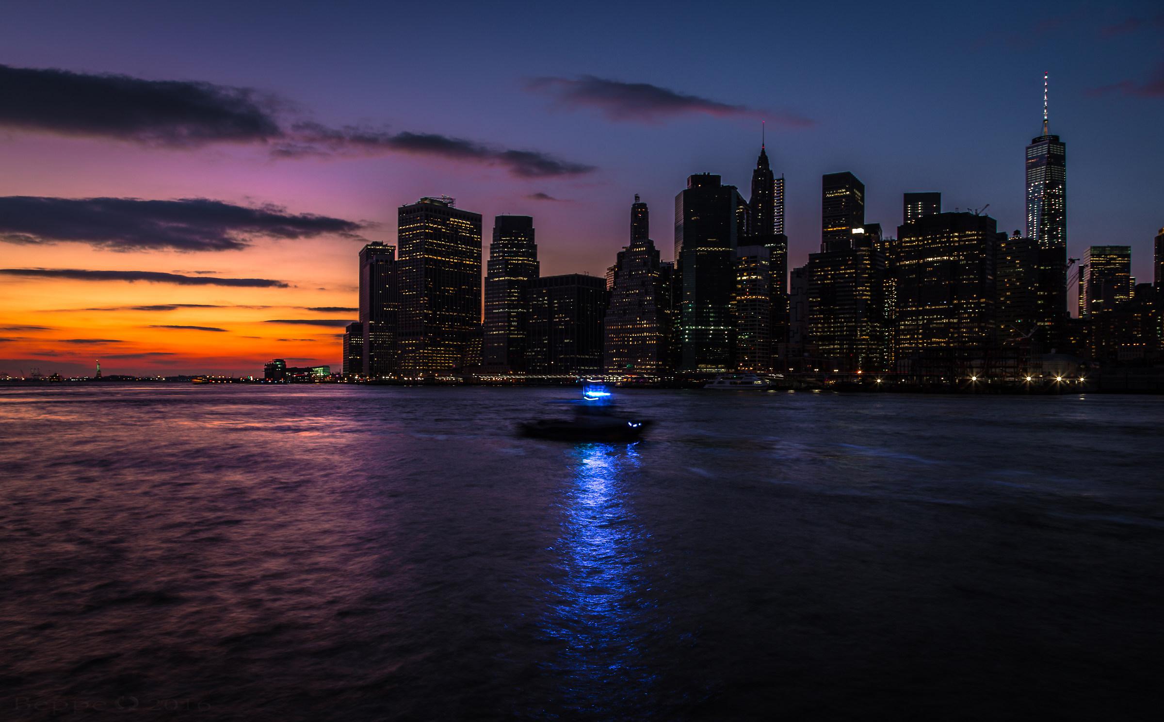 Lower Manhattan...