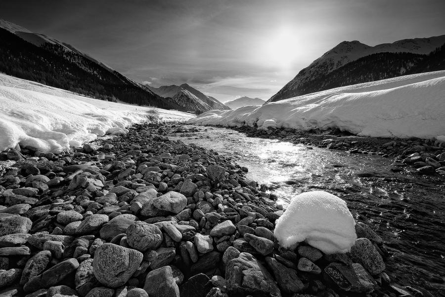 Valle alpina...