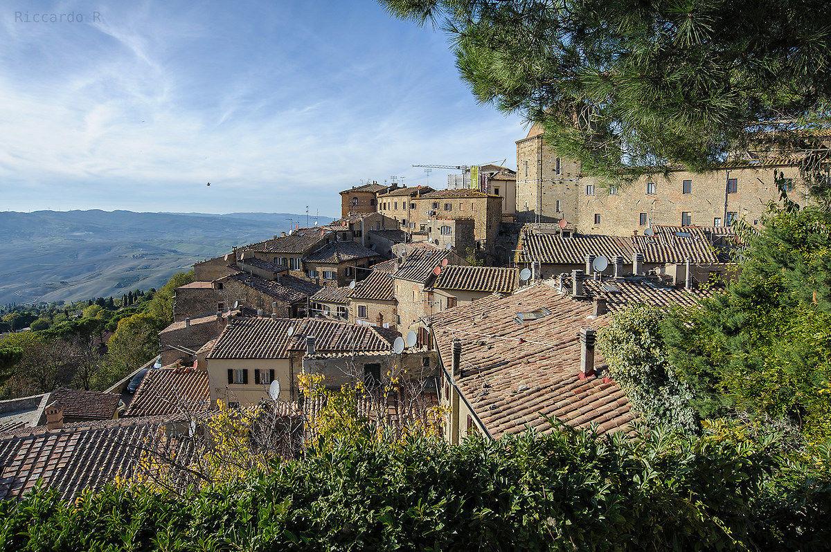 i tetti di Volterra...