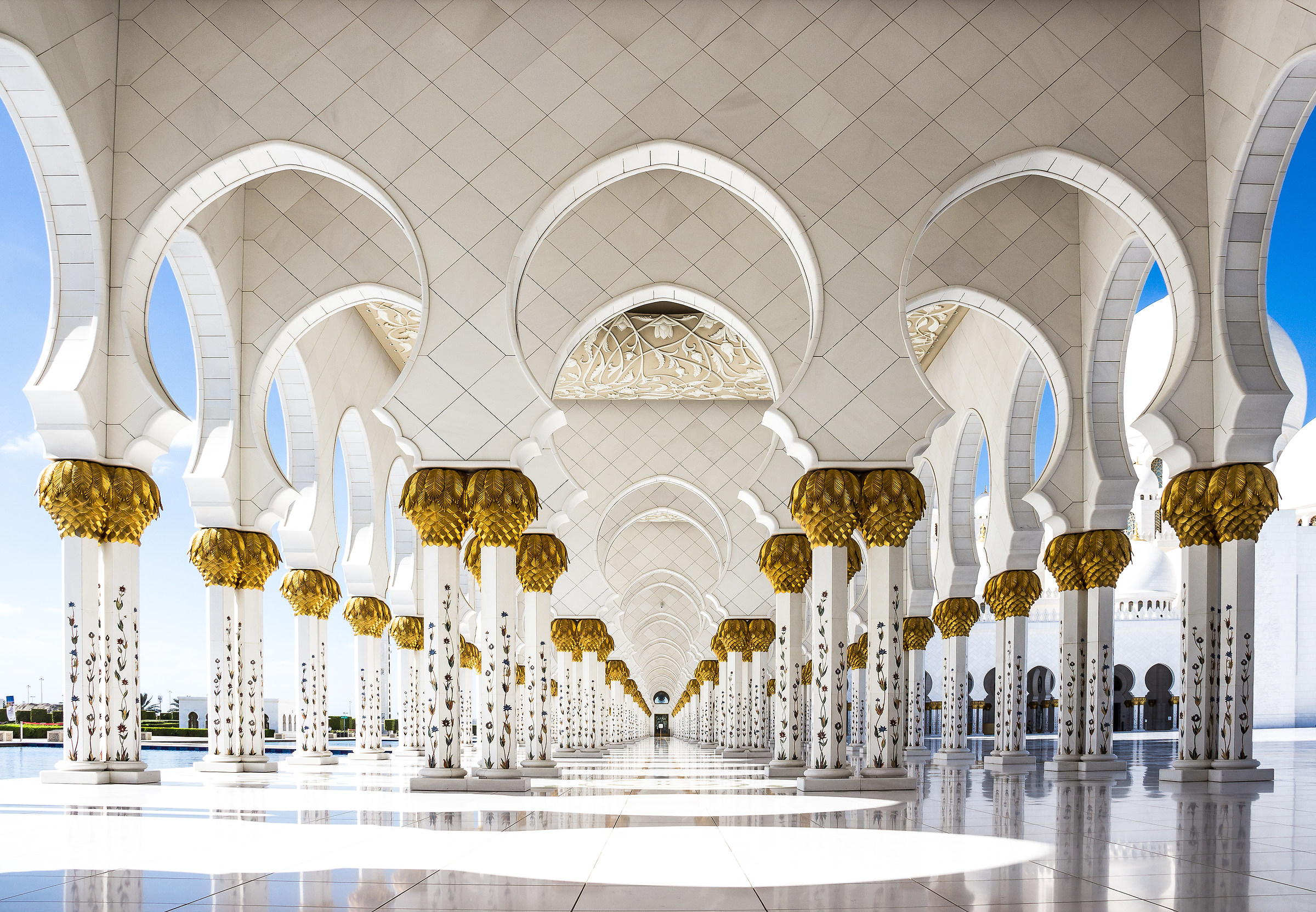 Sheikh Zayed Grand Mosque, Abu Dhabi, II....