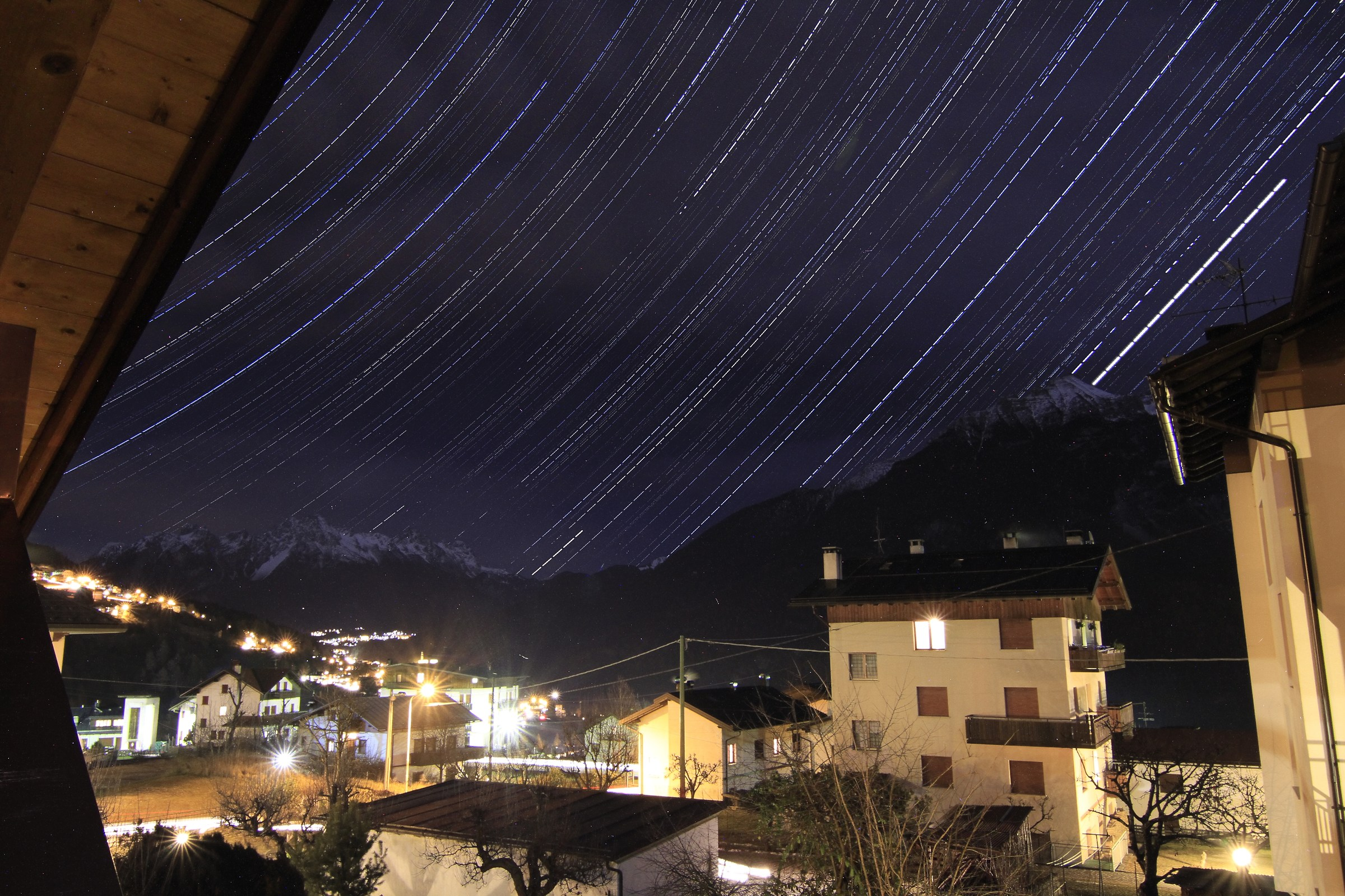 second test Startrail from home...