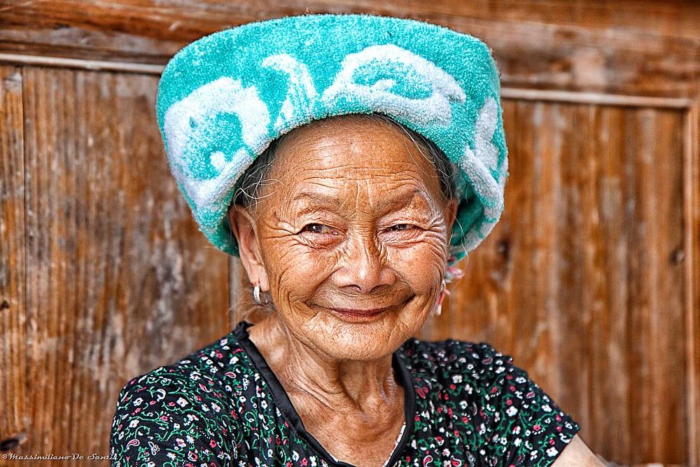 Woman at PingAn...