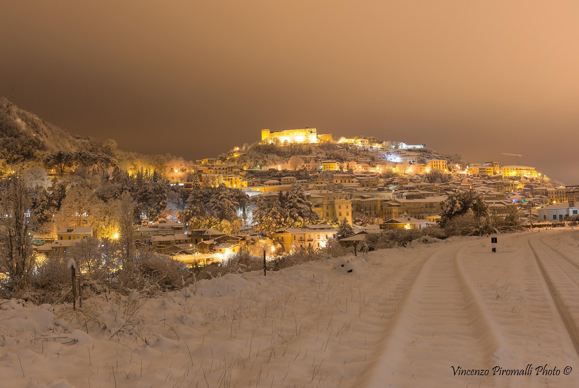 Magic snow...