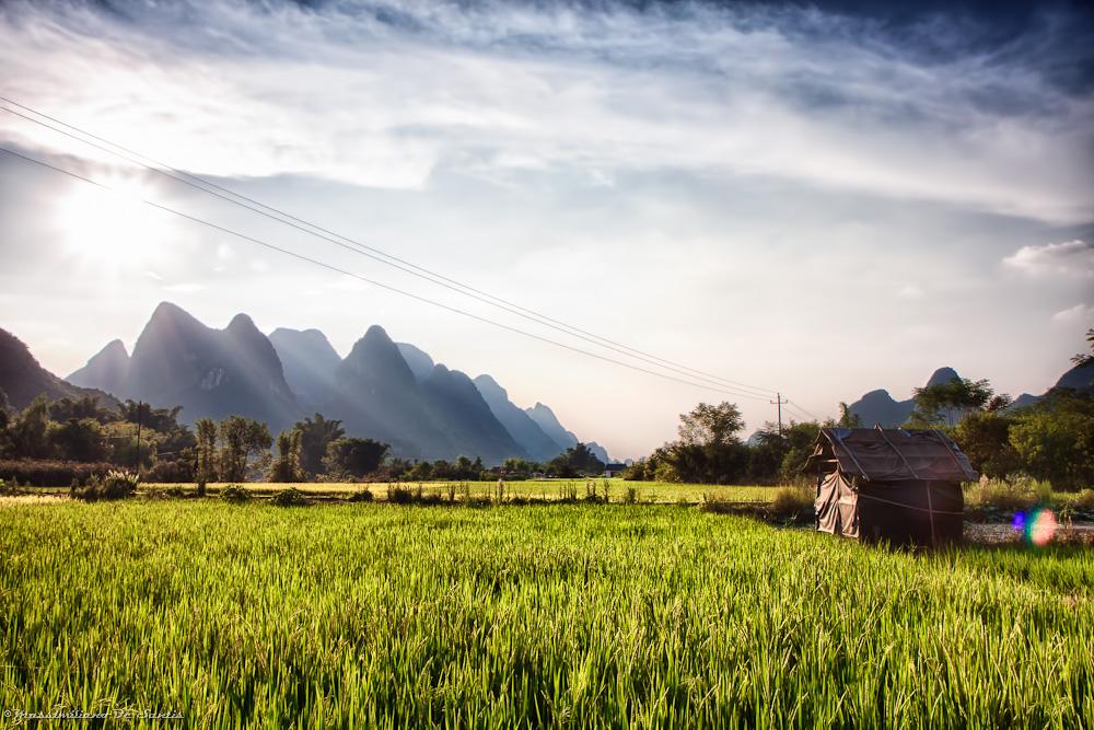 Yangshuo countryside...