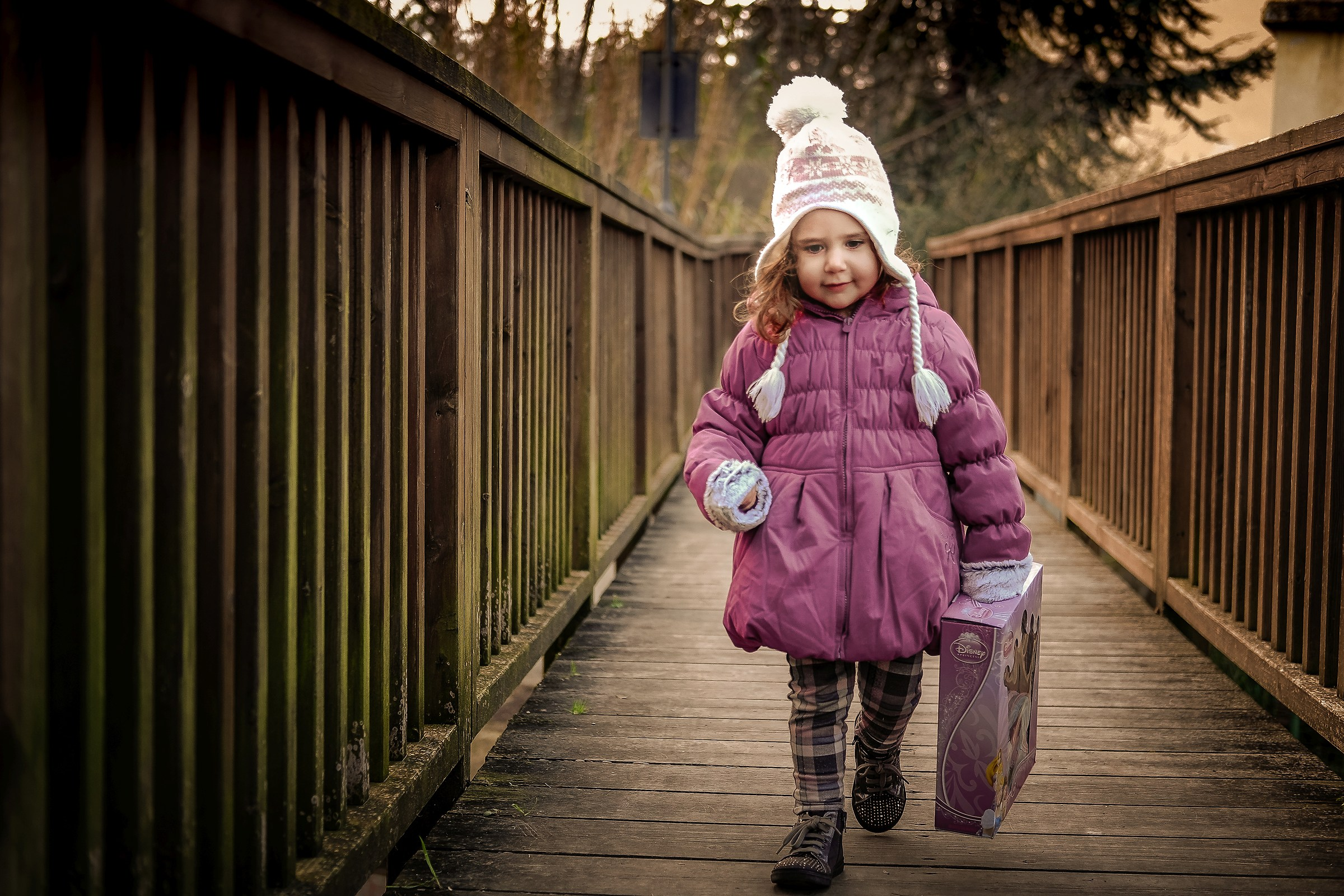 Alice e il ponte di legno...