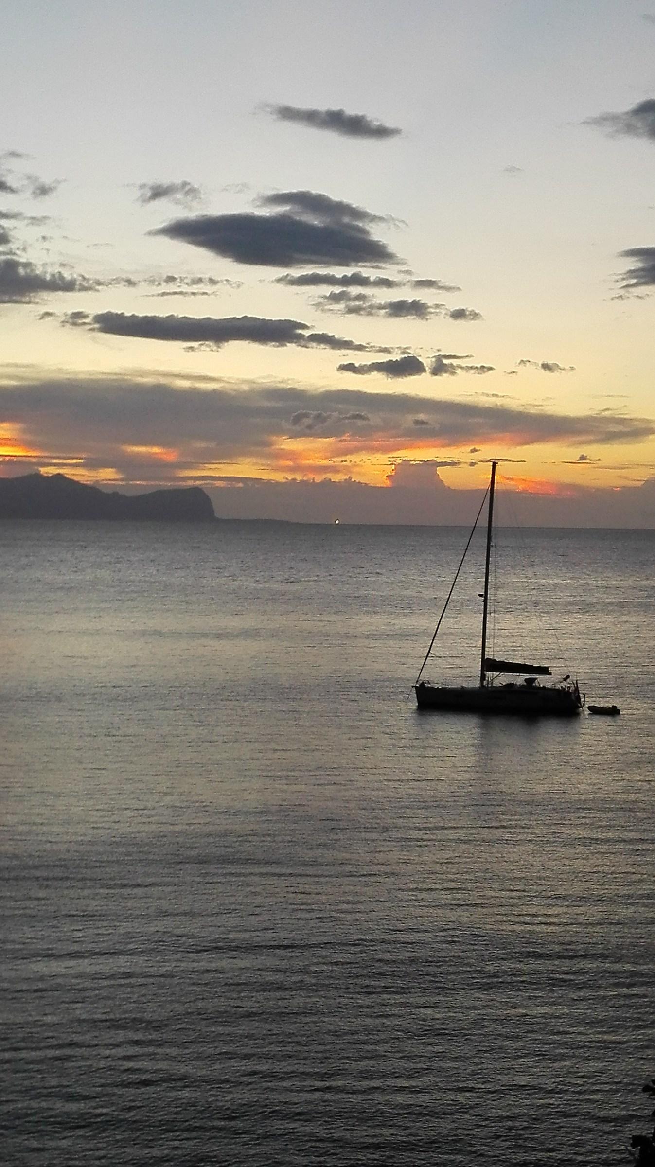 sunset in Sicily...