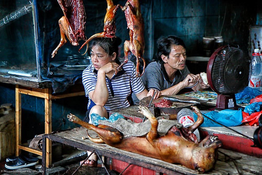 Yangshuo market...