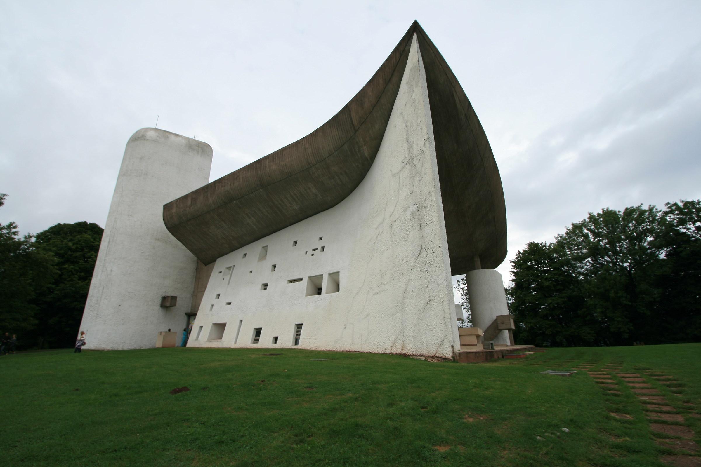 Ronchamp - Notre-Dame du Haut - Le Corbusier...