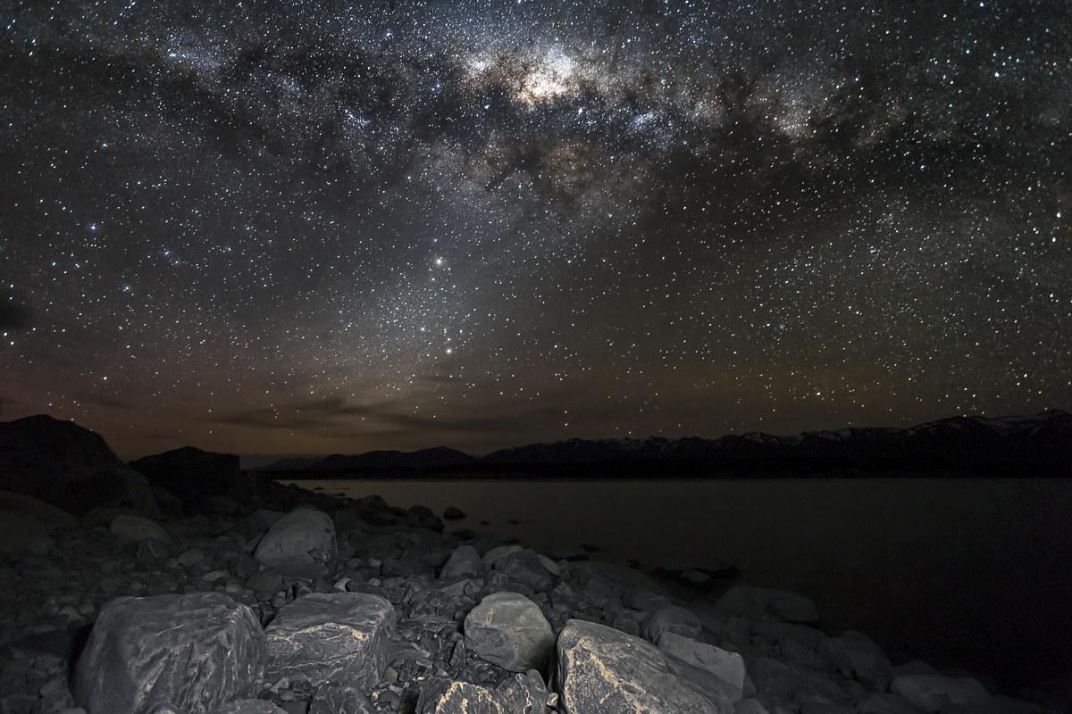 Milky Way over Lake Pukaki...