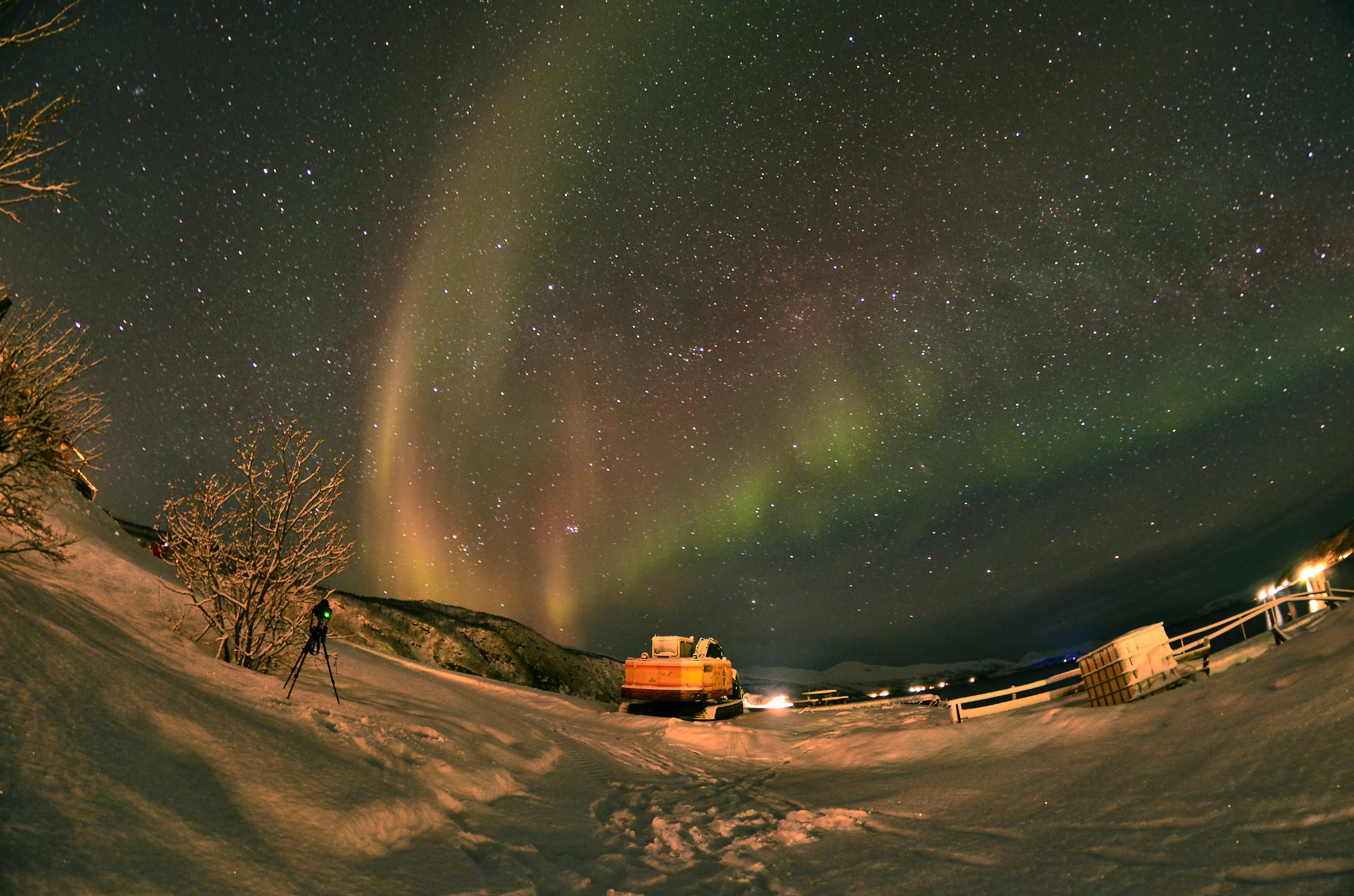 aurora dafjord norvegia...