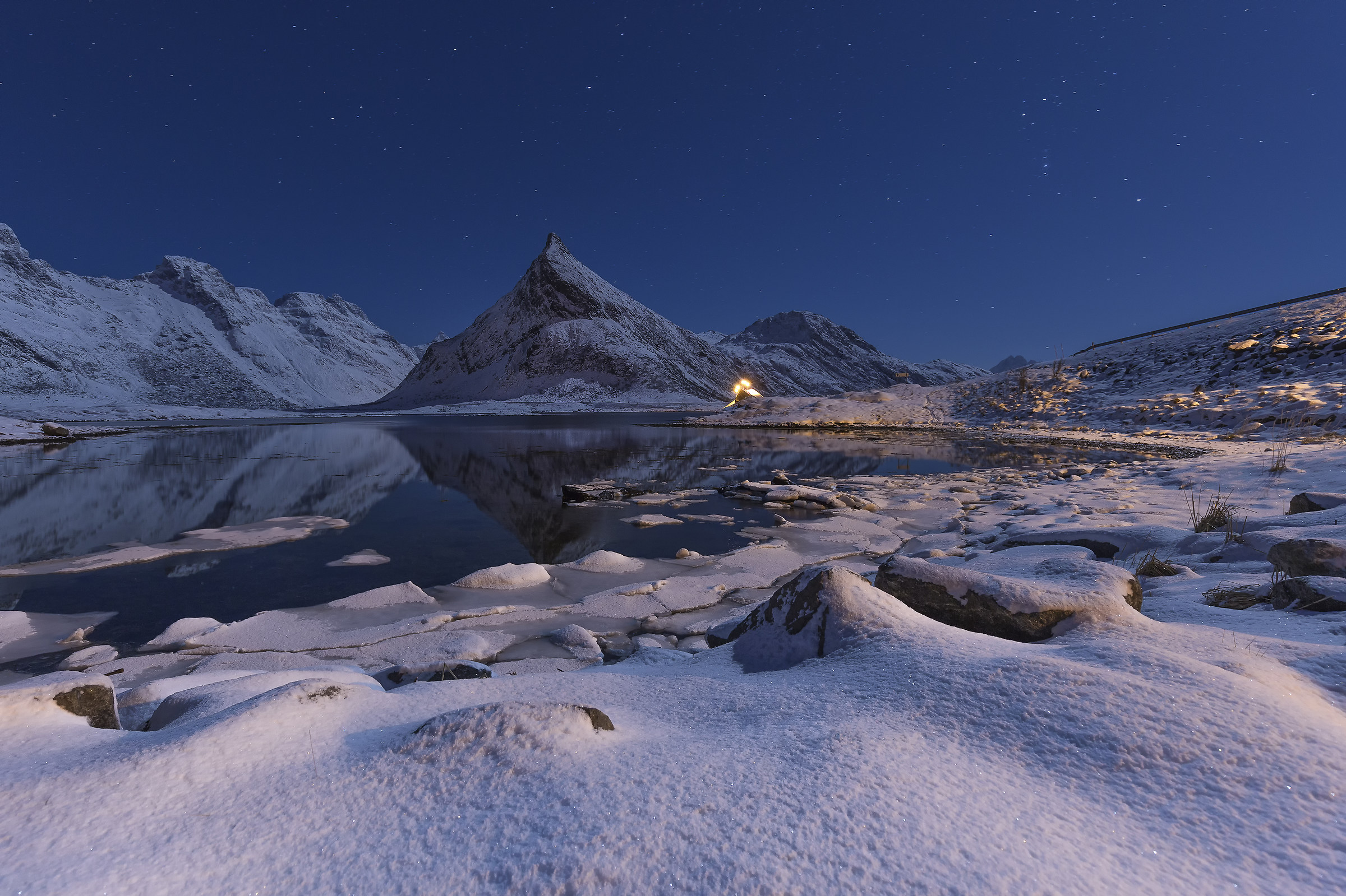 Starry Night Lofoten...
