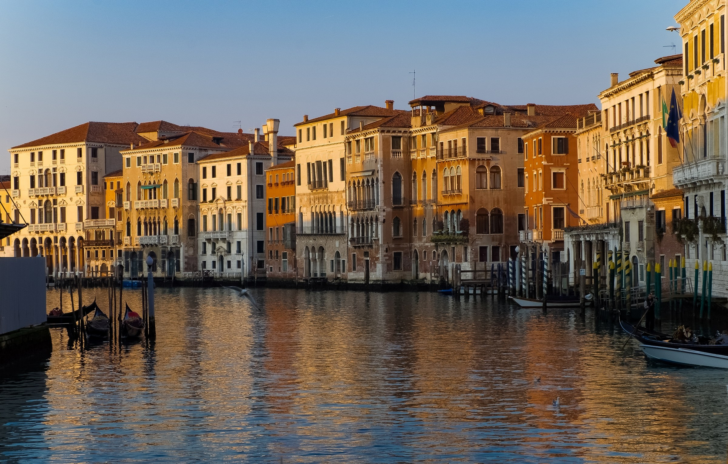 the tranquility of the Grand Canal...