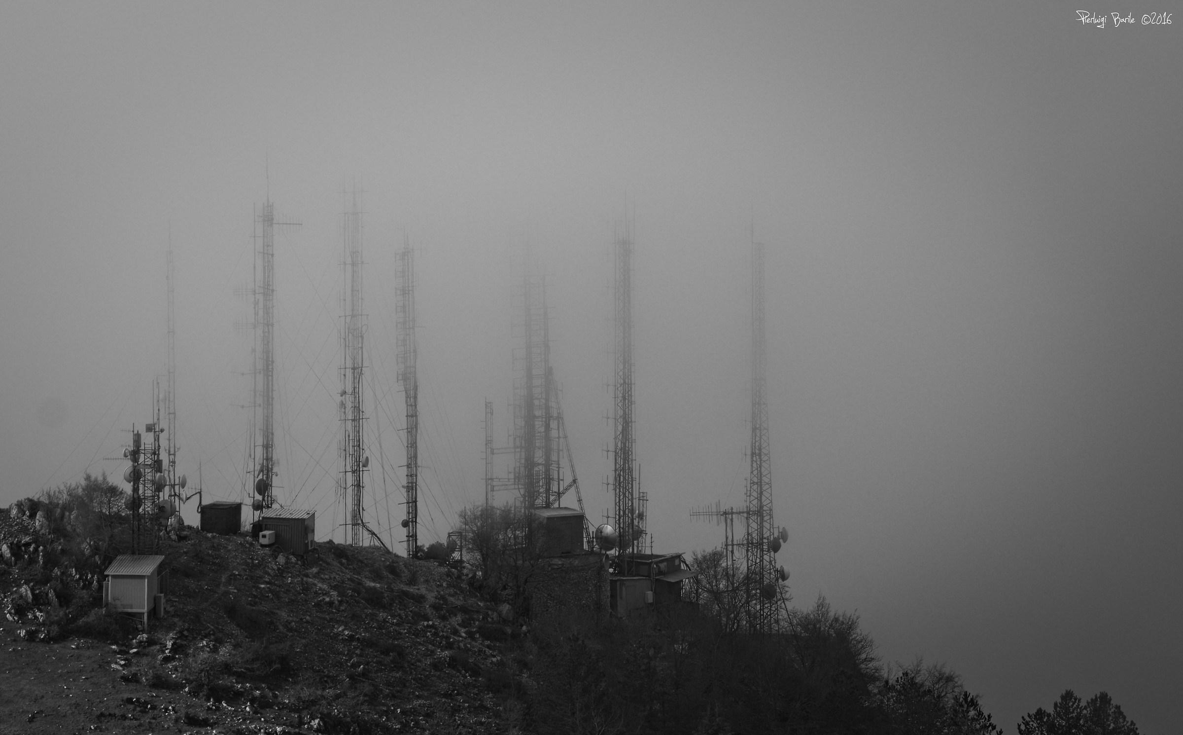 Monte Gennaro antennas...