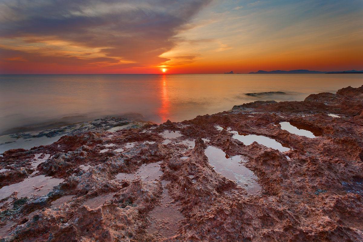 Sea Sunset in Formentera...