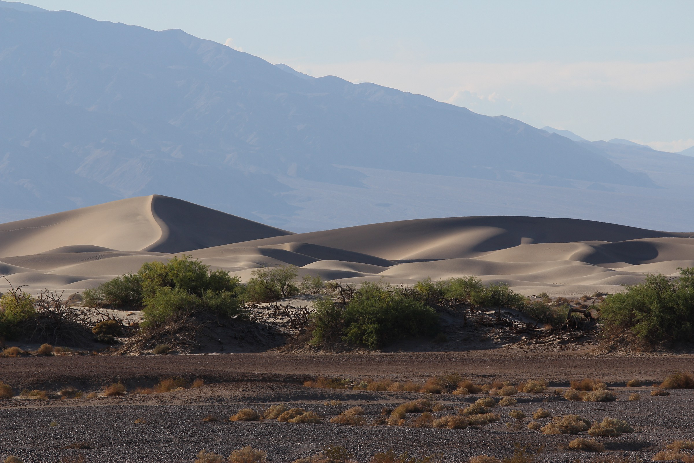 Death Valley desert...