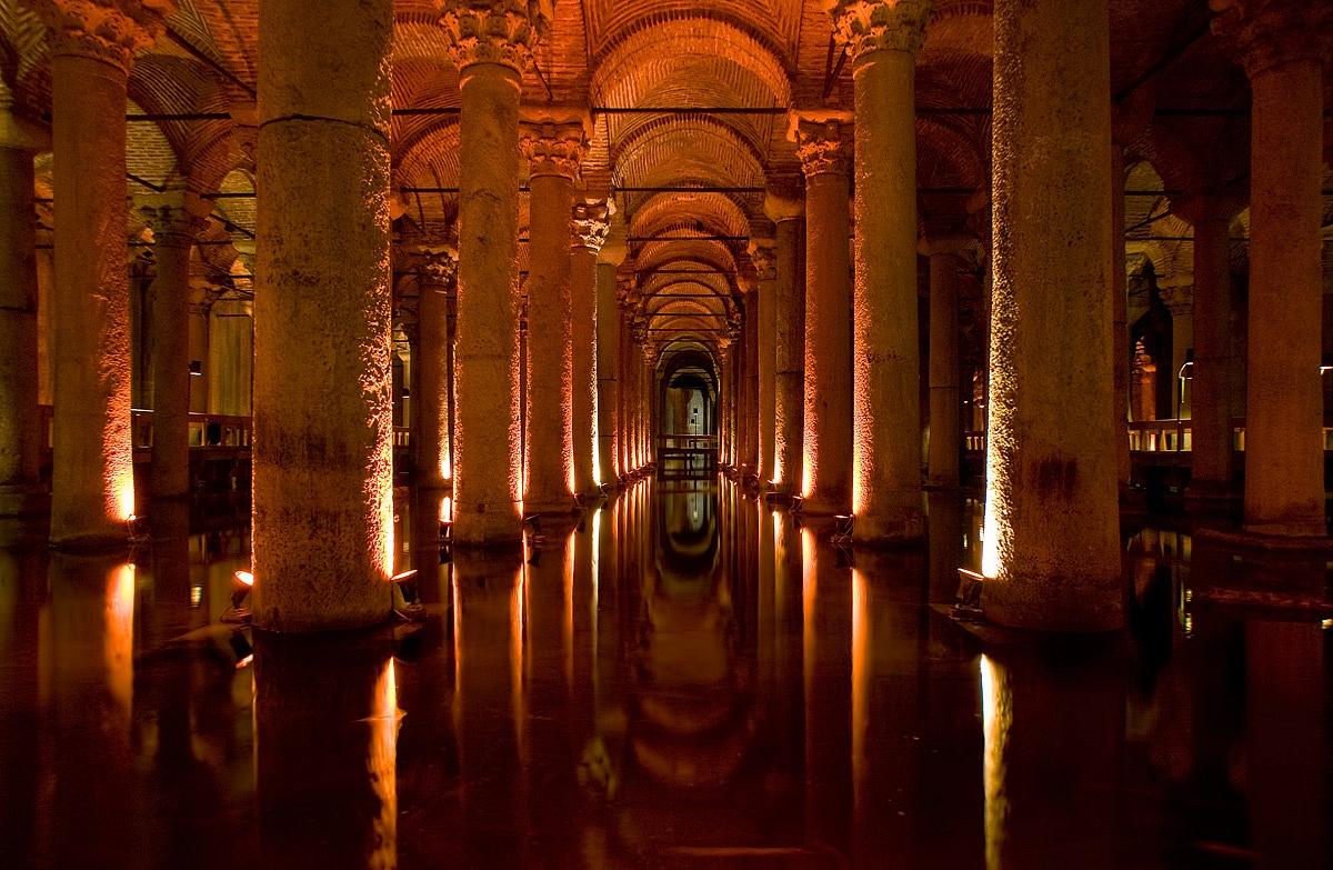 Cisterna Basilica....
